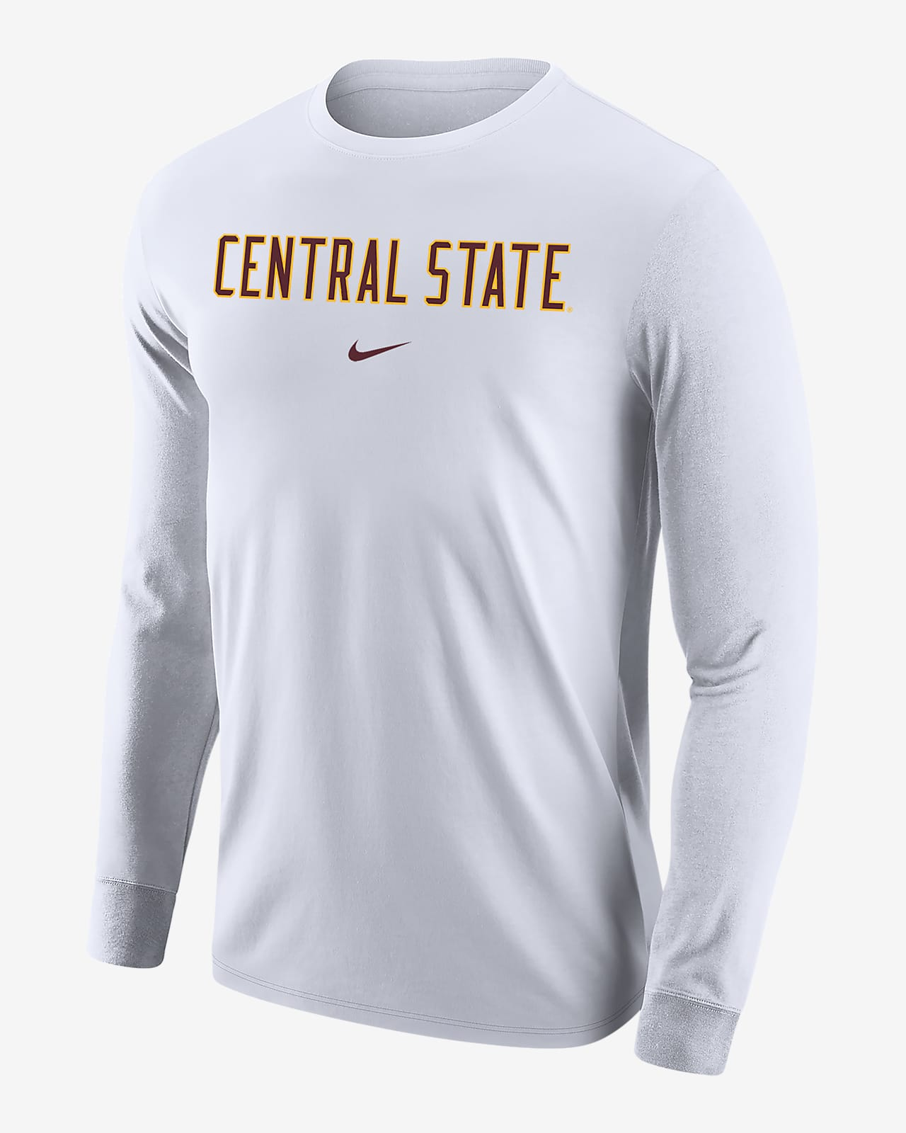 Nike College (Central State) Men's Long-Sleeve T-Shirt