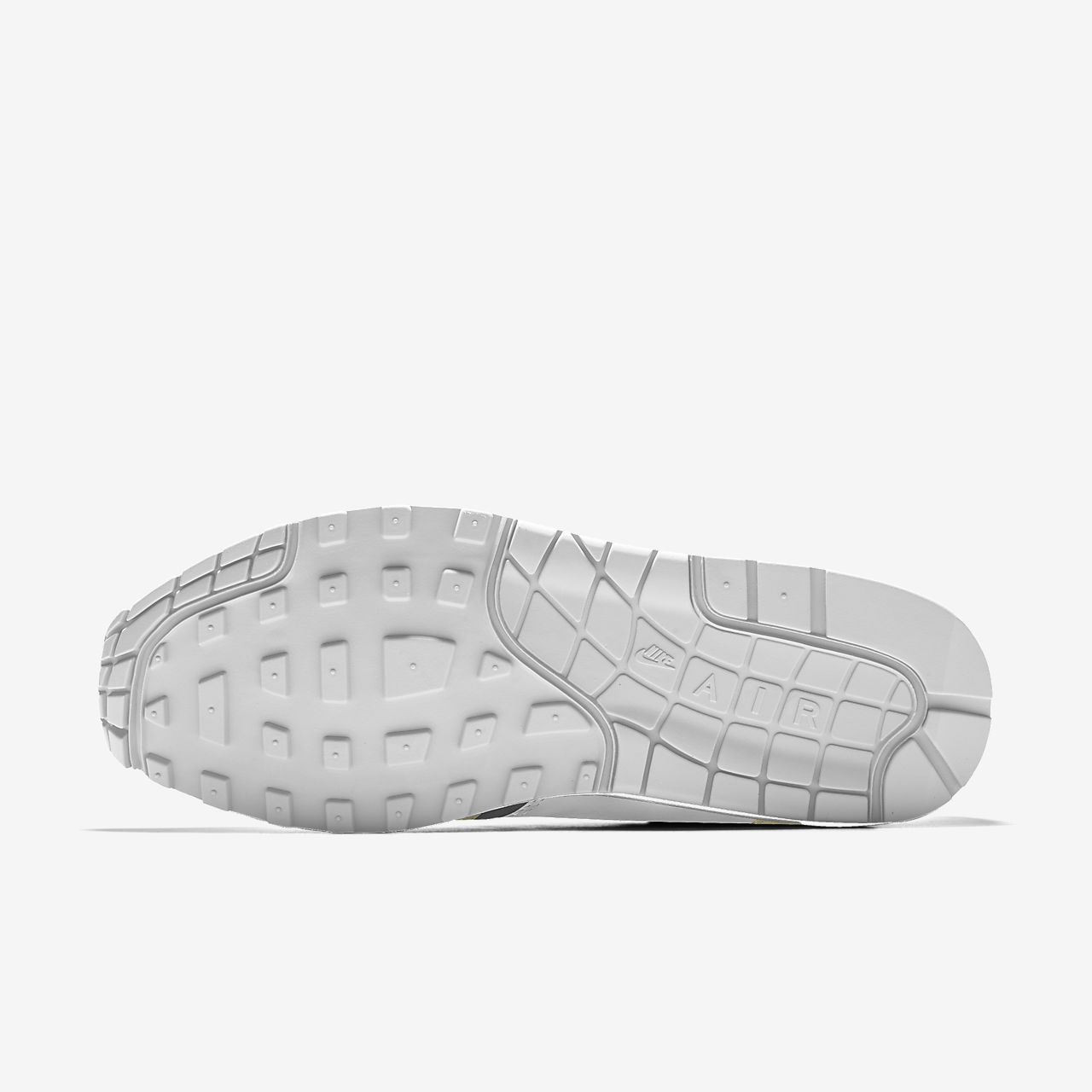 nike air max svart / hvitt fot skap