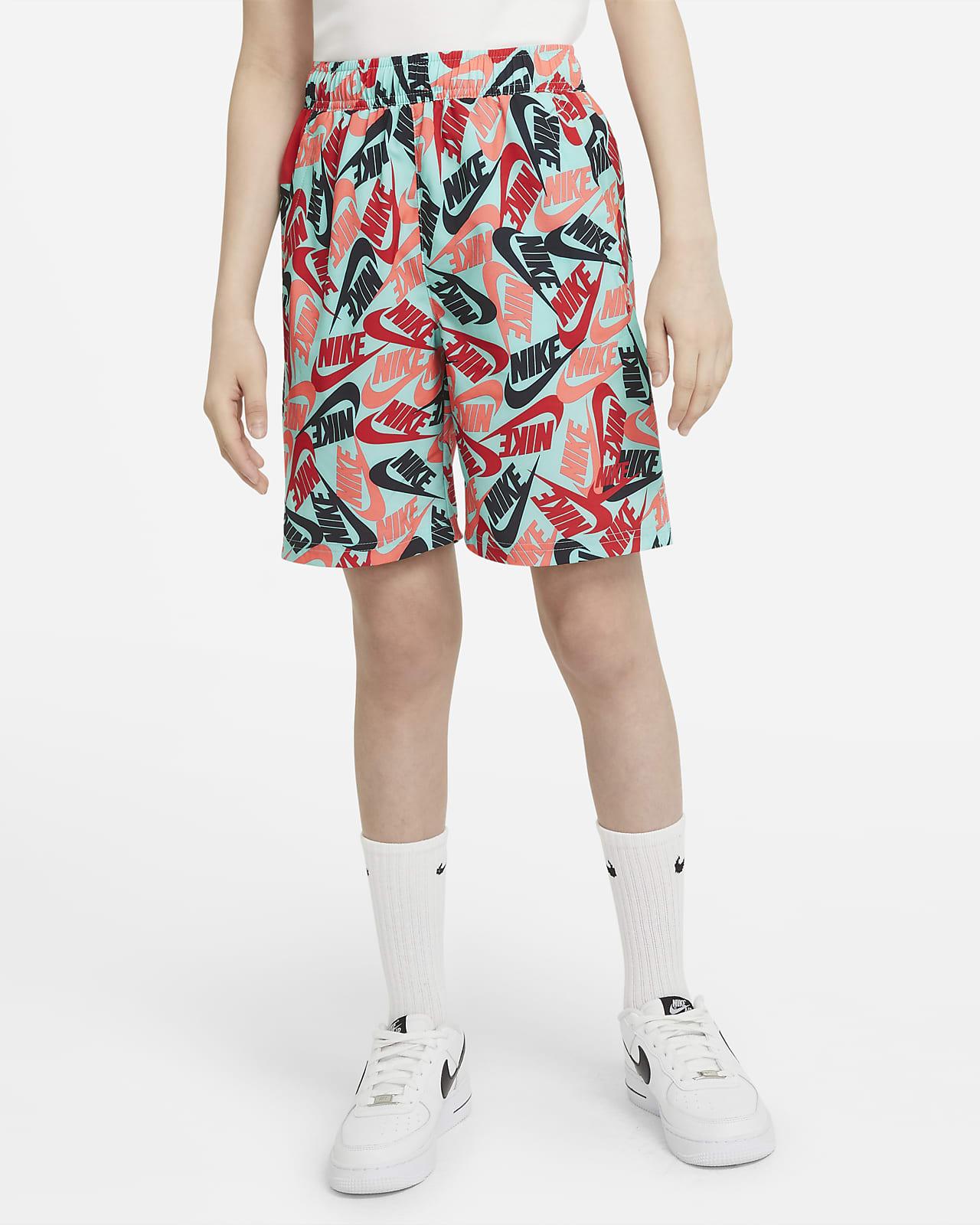 Nike Sportswear Big Kids' (Boys') Printed Woven Shorts