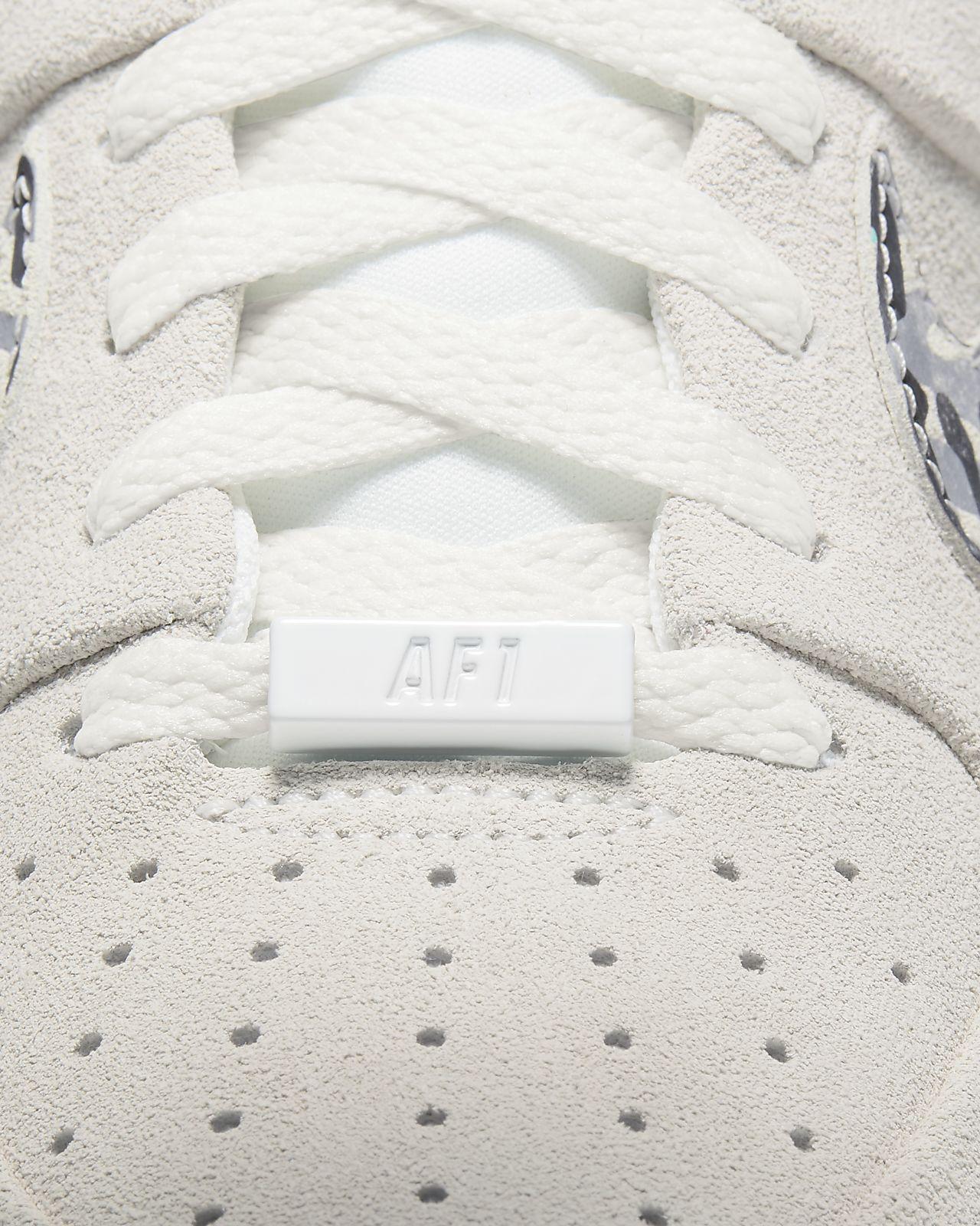 Damskie Nike Air Force 1 Sage Low z motywem zwierzęcego printu!