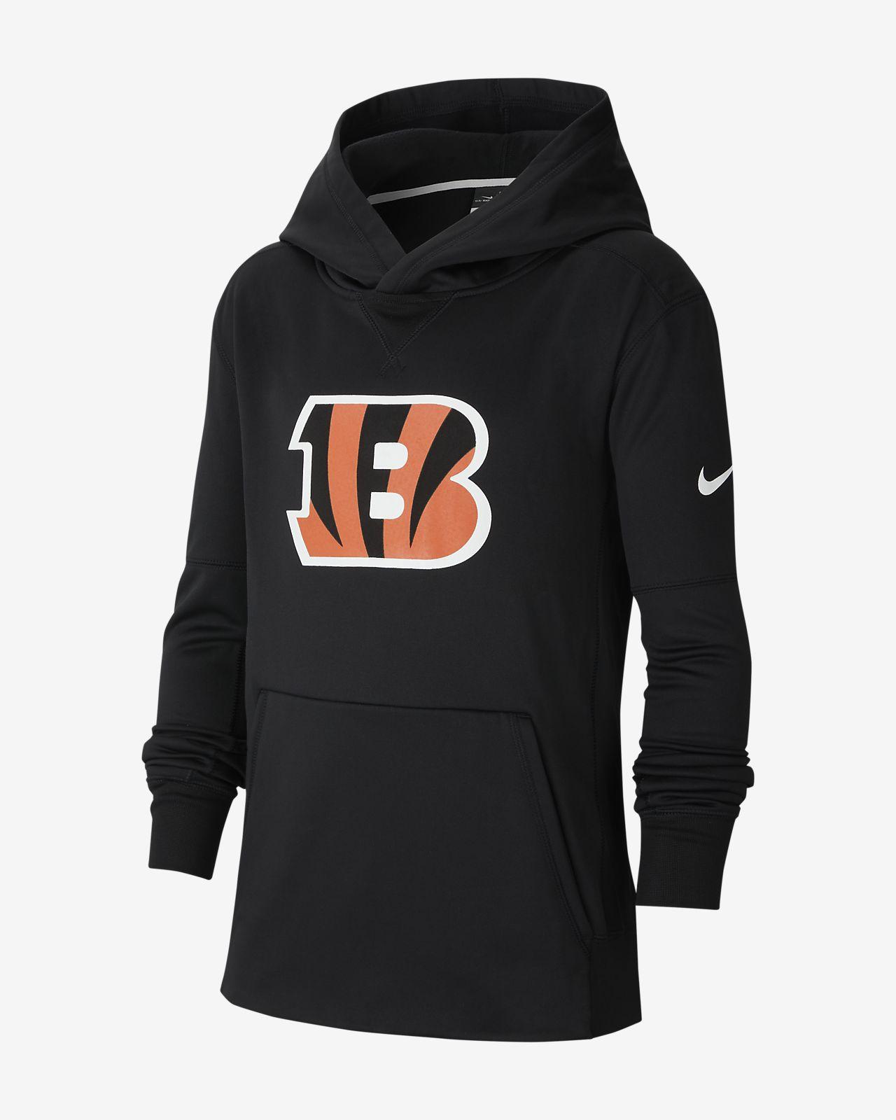 Nike (NFL Bengals) Big Kids' Logo Hoodie
