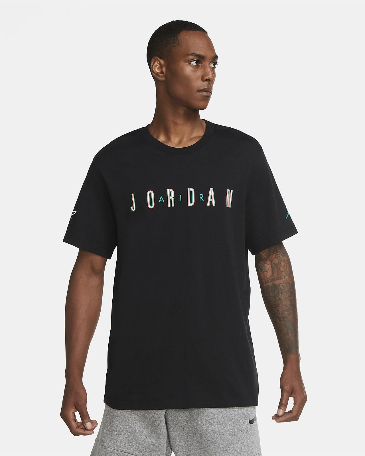 Playera de manga corta con cuello redondo para hombre Jordan Sport DNA