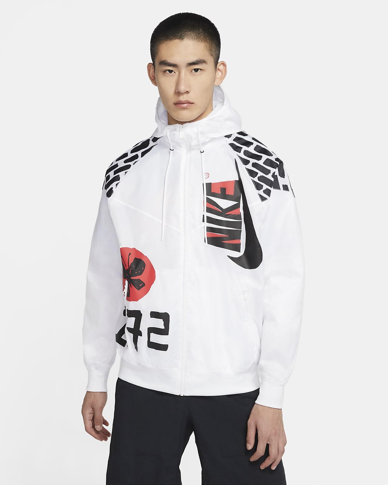 เสื้อแจ็คเก็ตผู้ชาย Nike Sportswear Heritage Windrunner