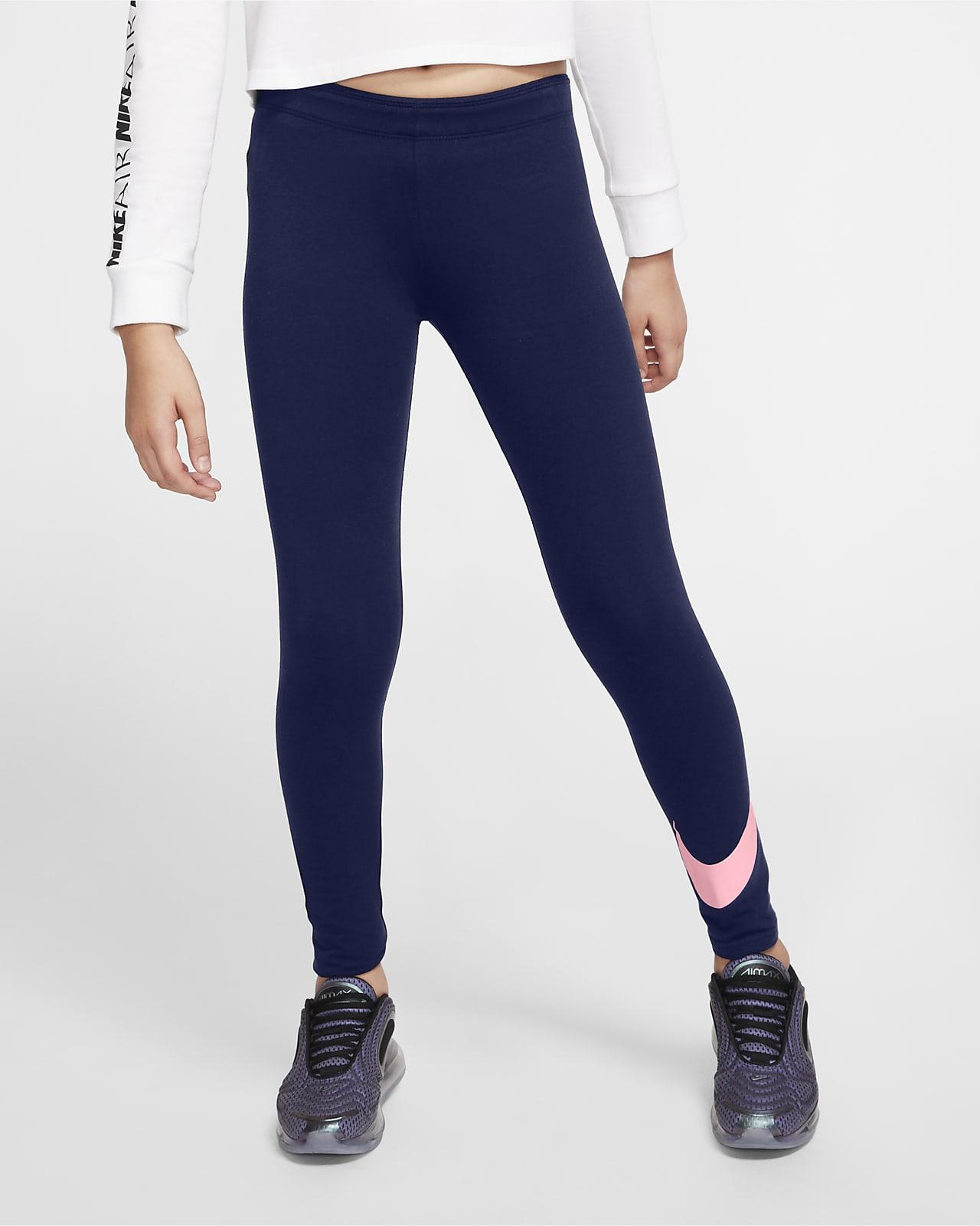 เลกกิ้งเด็กโต Nike Sportswear Favorites (หญิง)