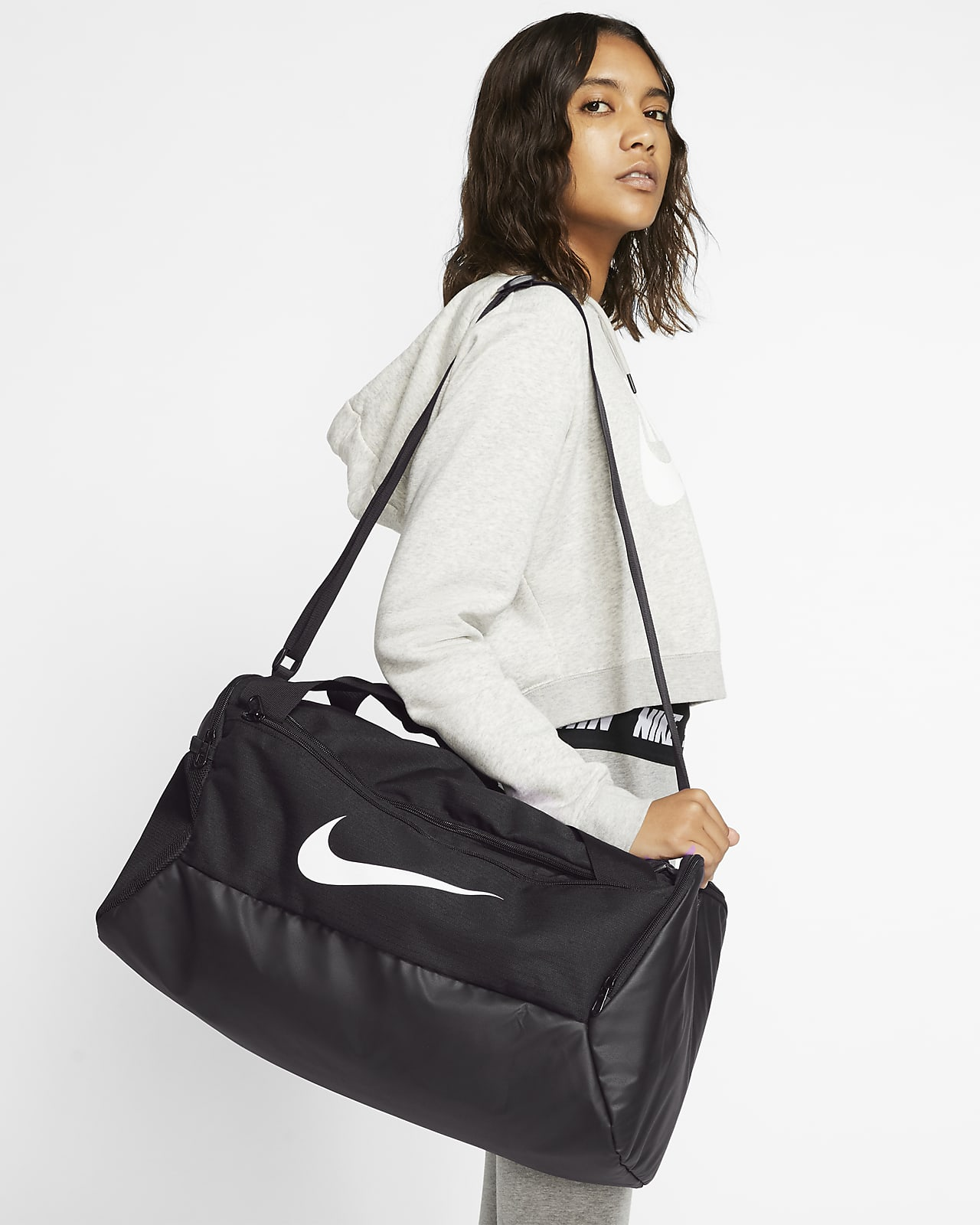 Nike Brasilia 訓練帆布包 (小)