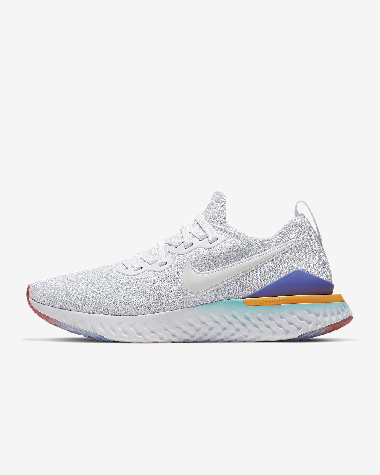 Nike Epic React Nike Epic React Flyknit 2 Women's Running Shoe. Nike LU