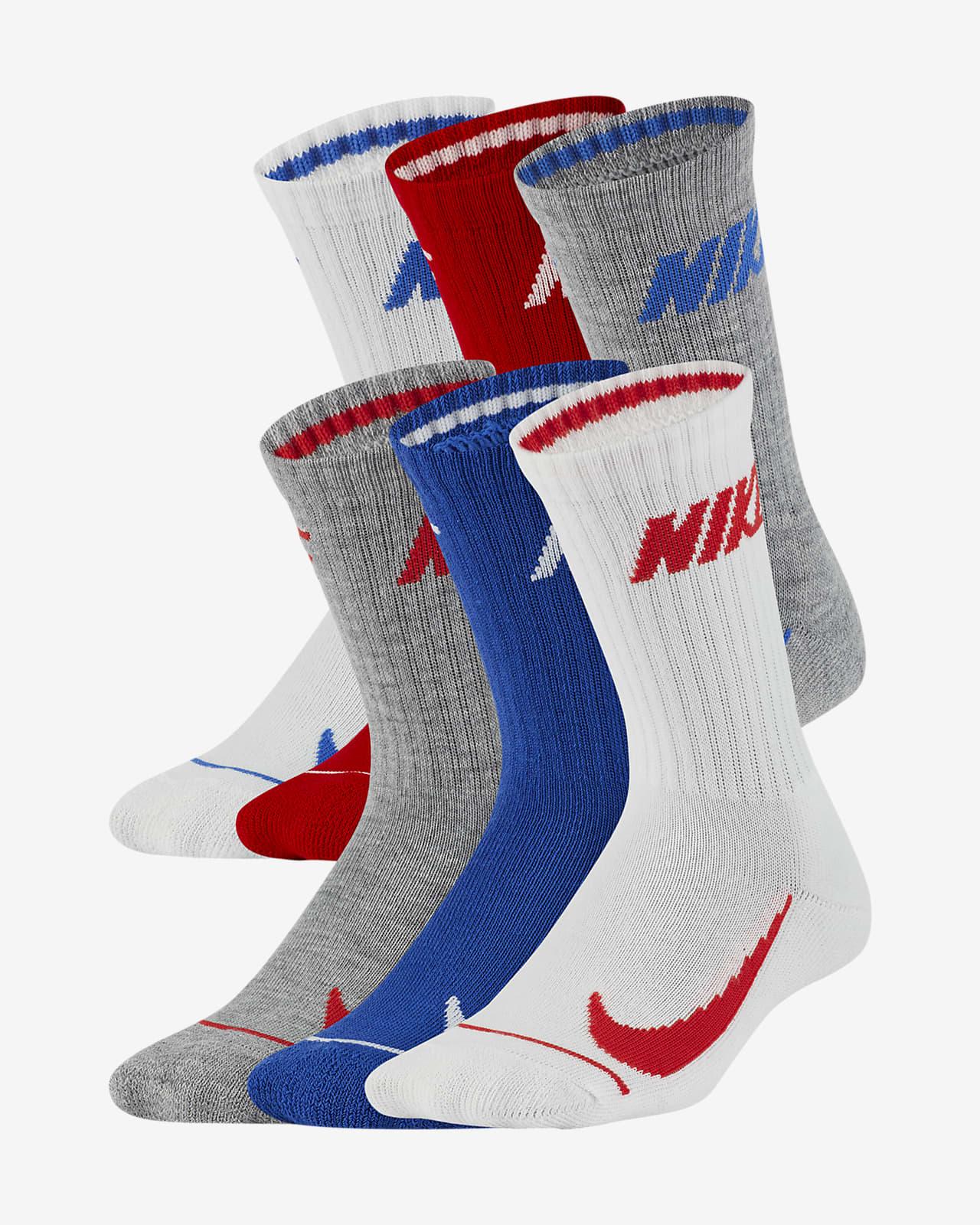 Nike Little Kids' Crew Socks (6 Pairs)