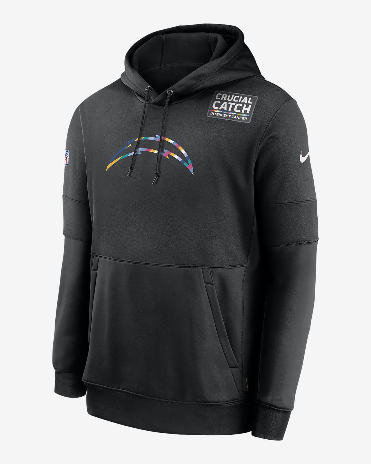 Nike Therma Crucial Catch (NFL Chargers) Men's Hoodie