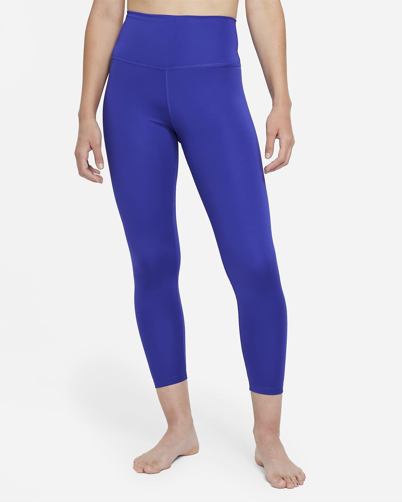 Nike Yoga 女款高腰九分內搭褲