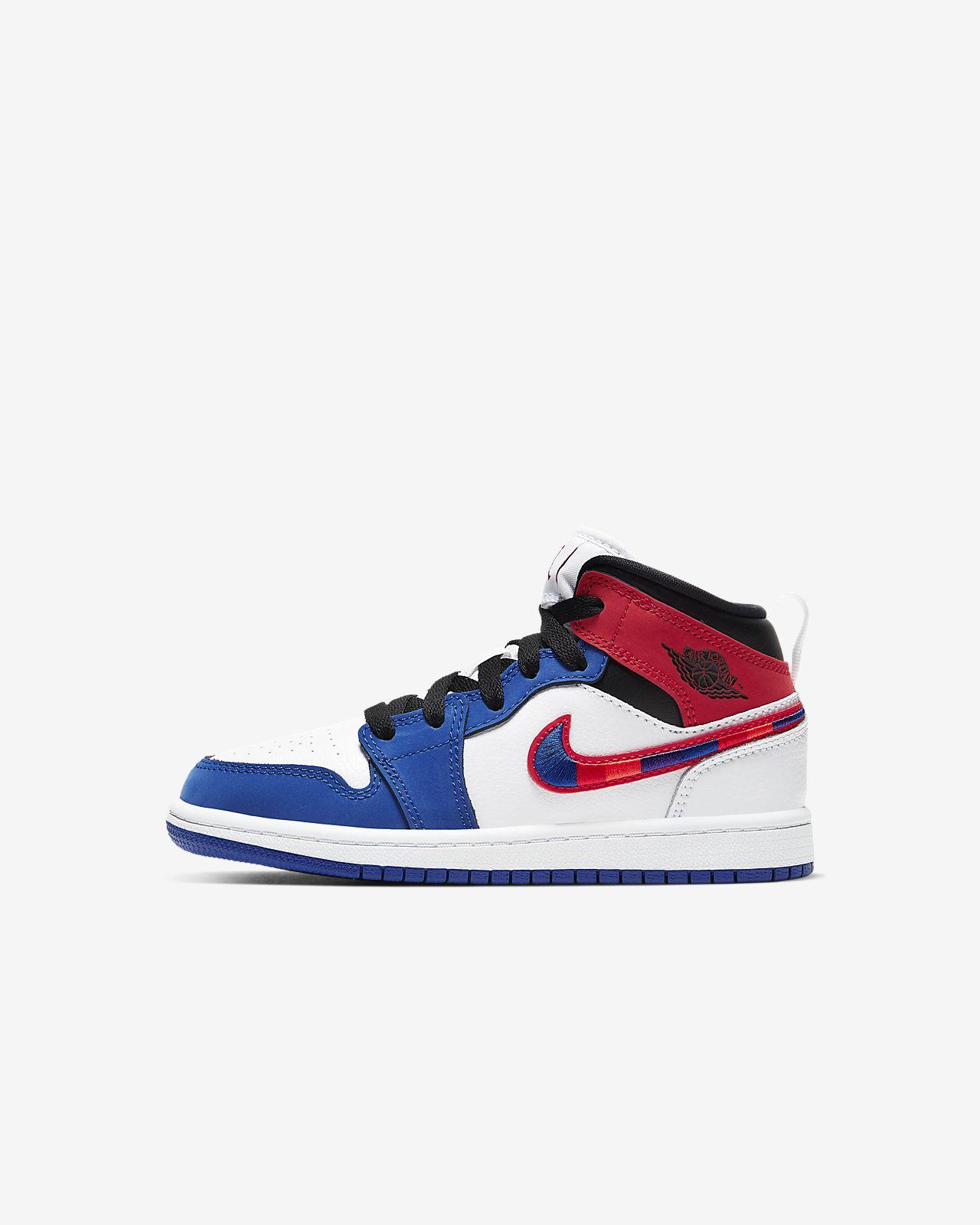 Jordan 1 Mid SE Little Kids' Shoe