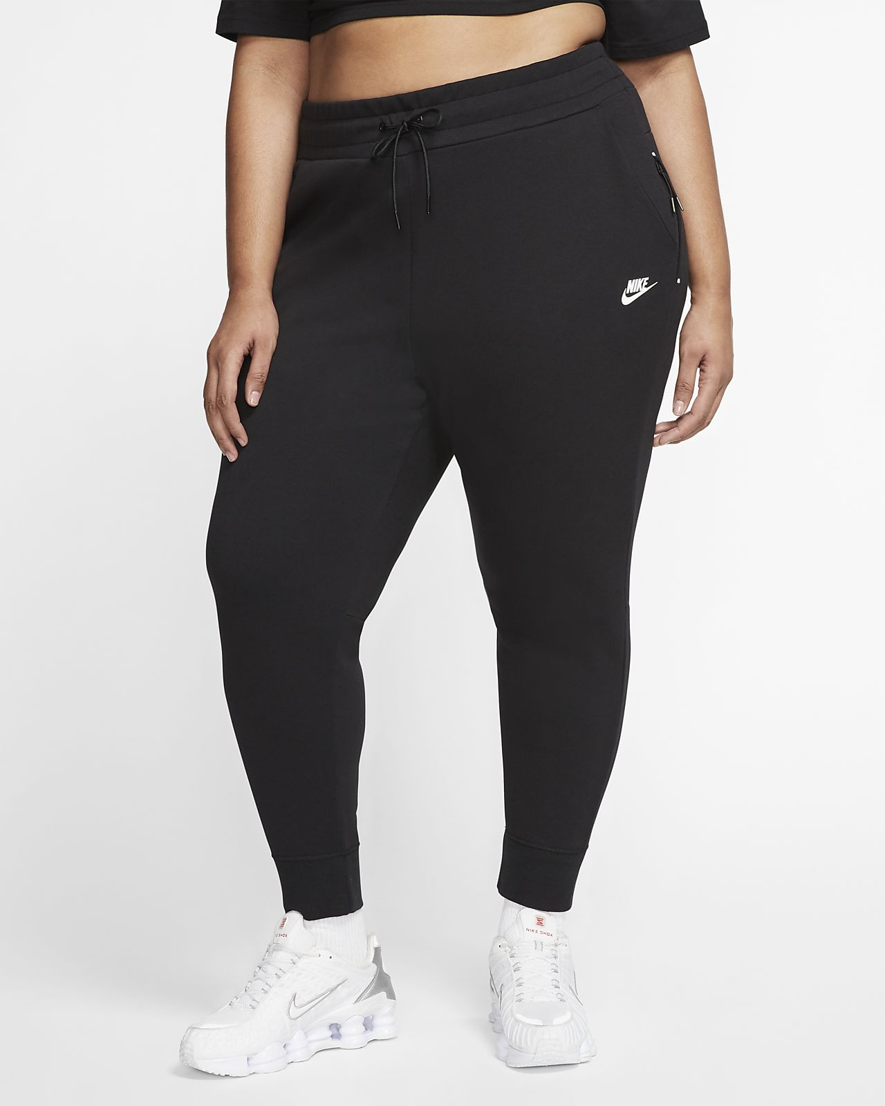 Nike Sportswear Tech Fleece Damesbroek (grote maten)