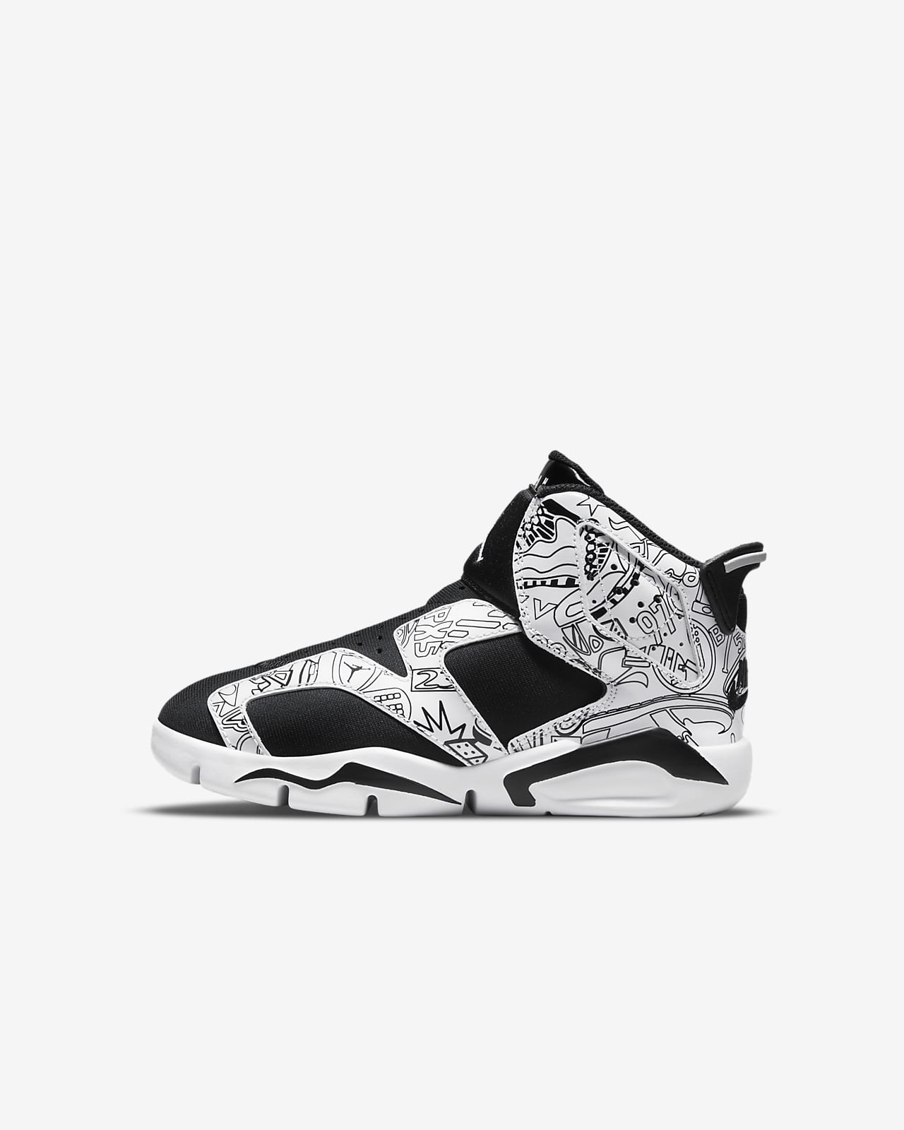 Jordan 6 Retro LTL Flex SE PS 复刻幼童运动童鞋