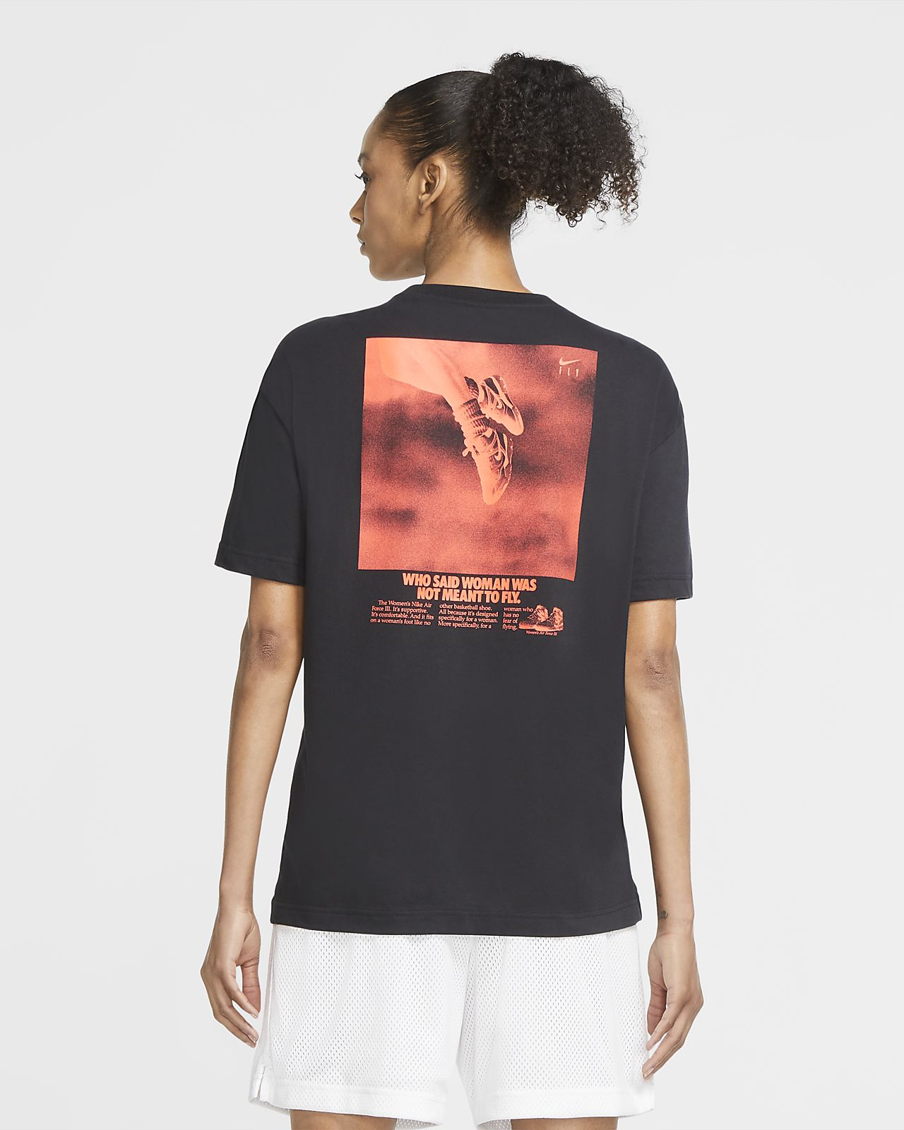Nike Dri FIT Swoosh Fly basket T skjorte til dame. Nike NO