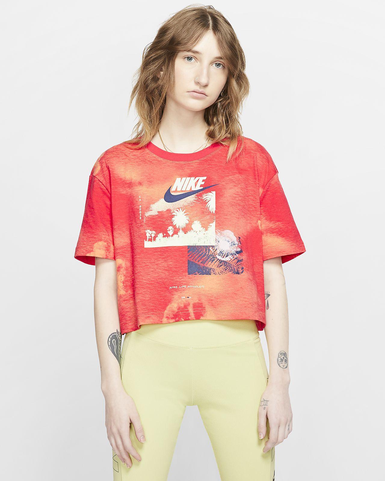 Nike Sportswear Women's Tie-Dye Crop Top