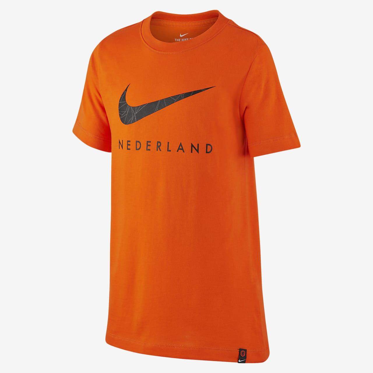 Koszulka piłkarska dla dużych dzieci Holandia
