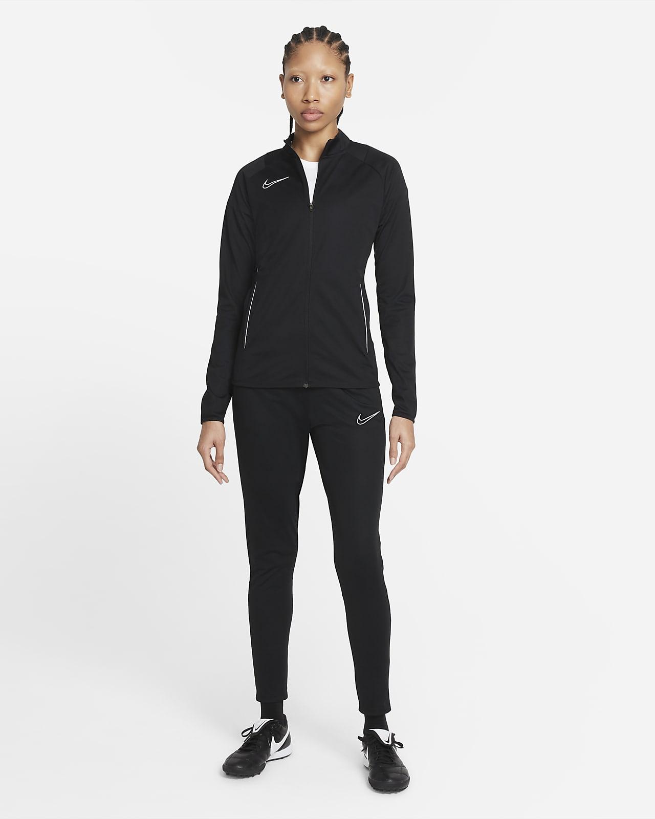 Nike Dri-FIT Academy-vævet fodboldtræningsdragt til kvinder