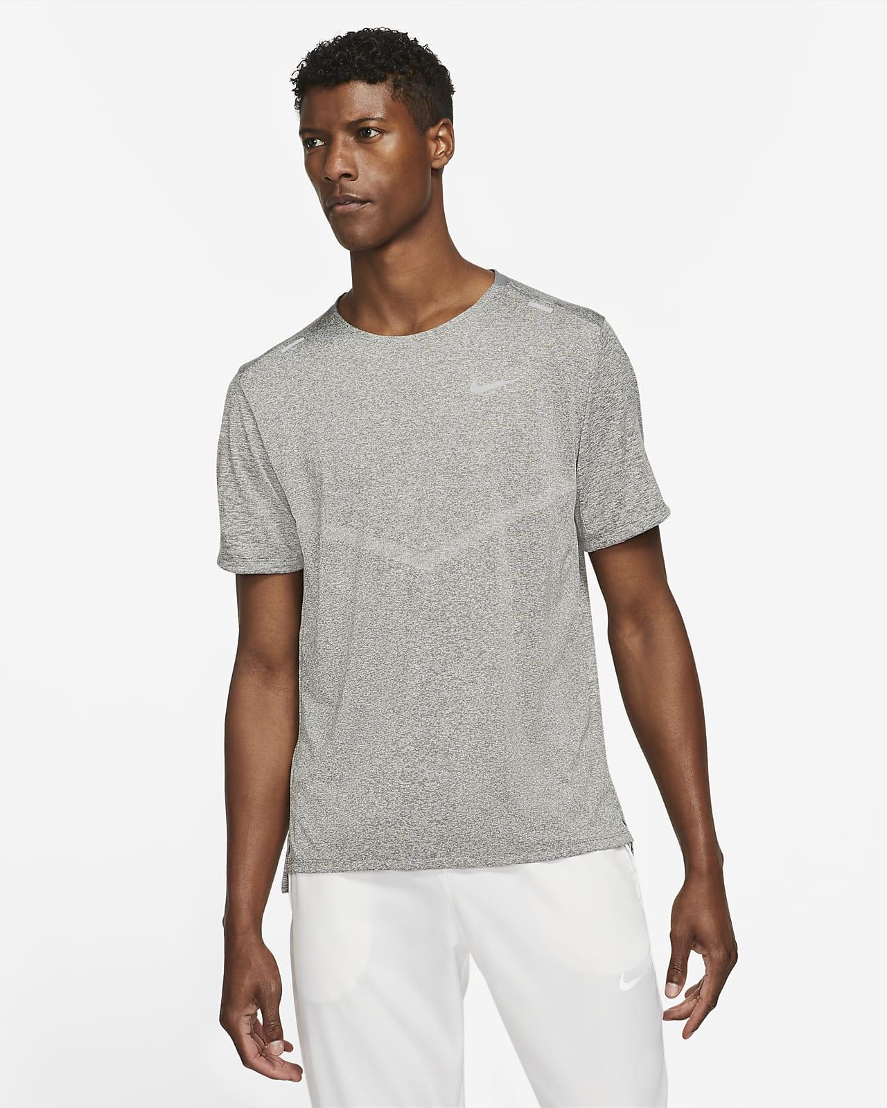 Мужская беговая футболка с коротким рукавом Nike Dri-FIT Rise 365