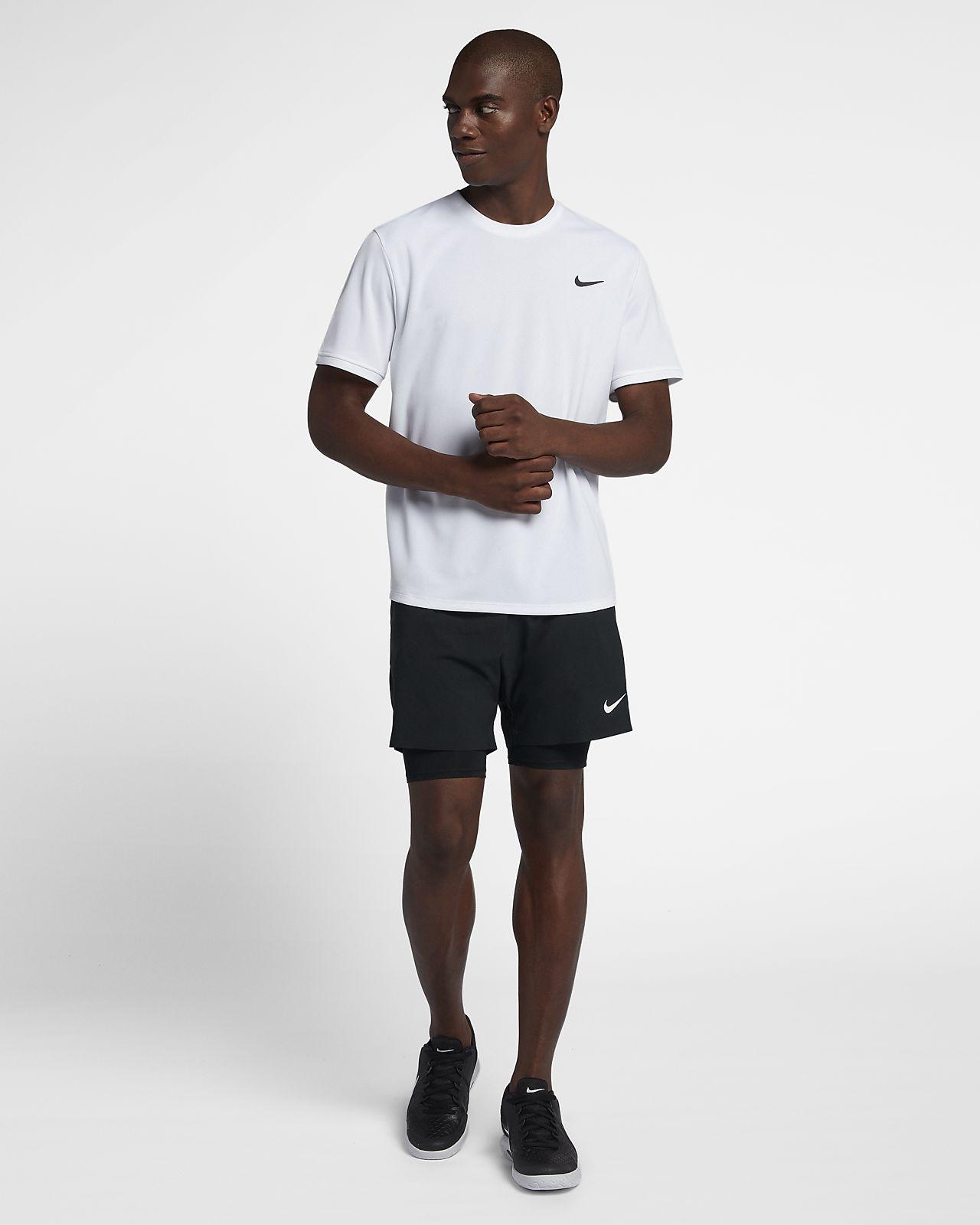 NikeCourt Dri FIT Men's Short Sleeve Tennis Top