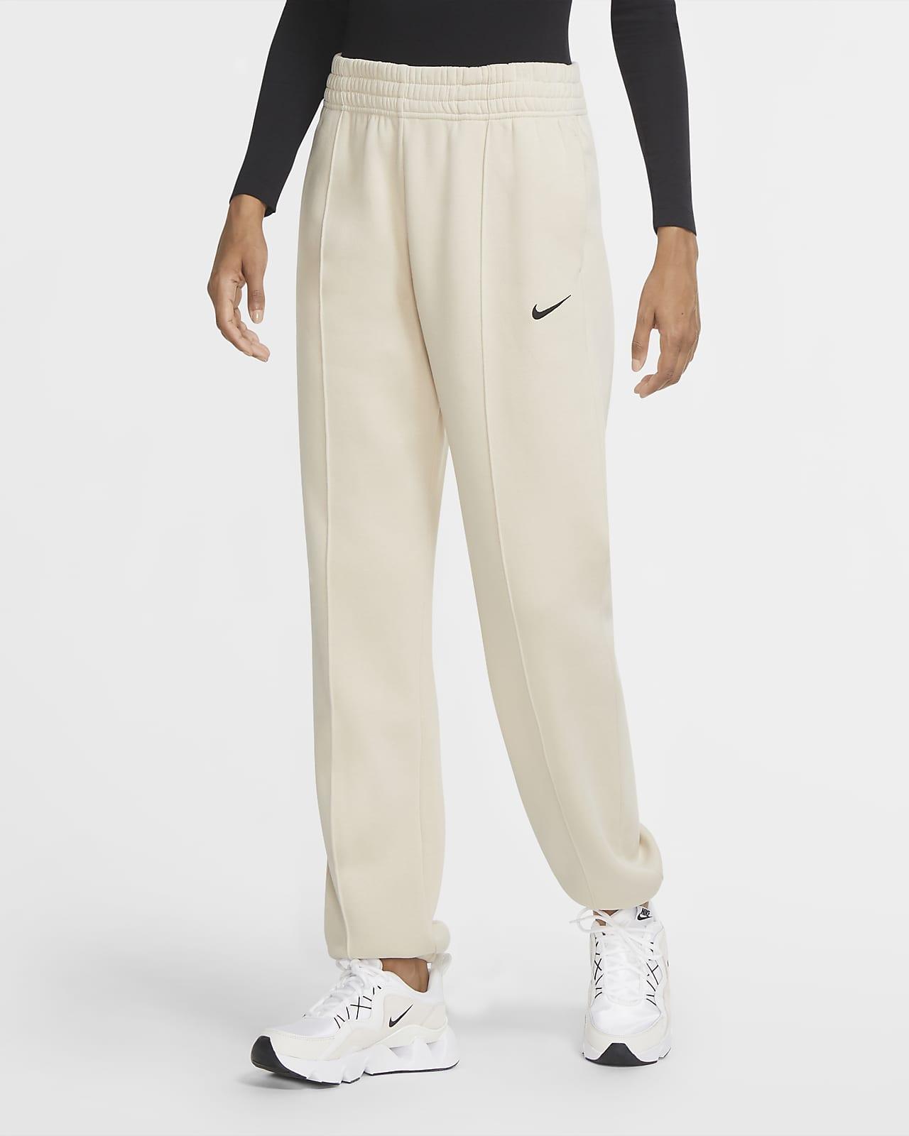 Pantalones de tejido Fleece para mujer Nike Sportswear Essential