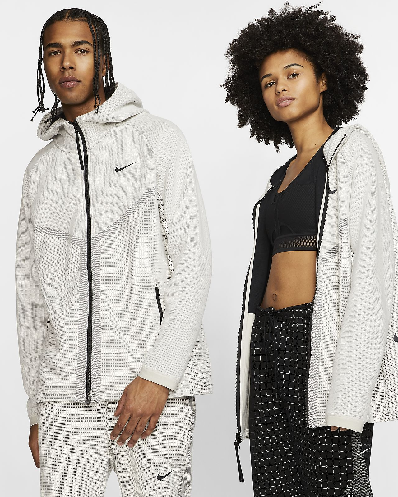 Nike Sportswear Tech Pack Windrunner-hættetrøje med lynlås