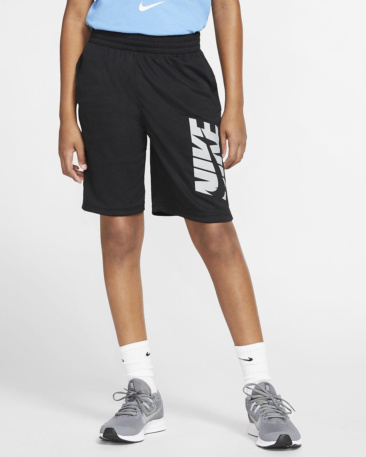 Nike treningsshorts til store barn (gutt)