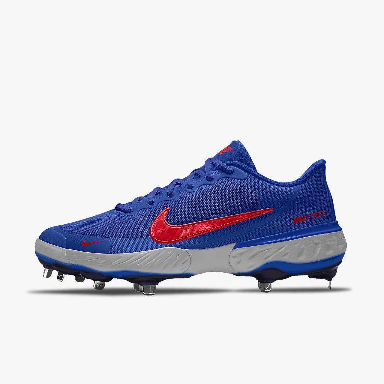 Chaussure de baseball à crampons personnalisable Nike Alpha Huarache Elite 3 Low By You
