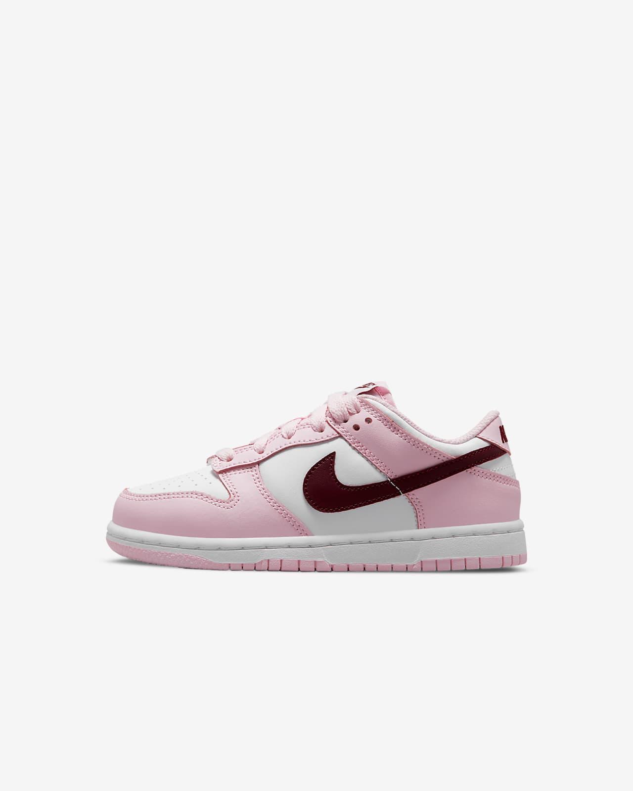 Calzado para niños de talla pequeña Nike Dunk Low
