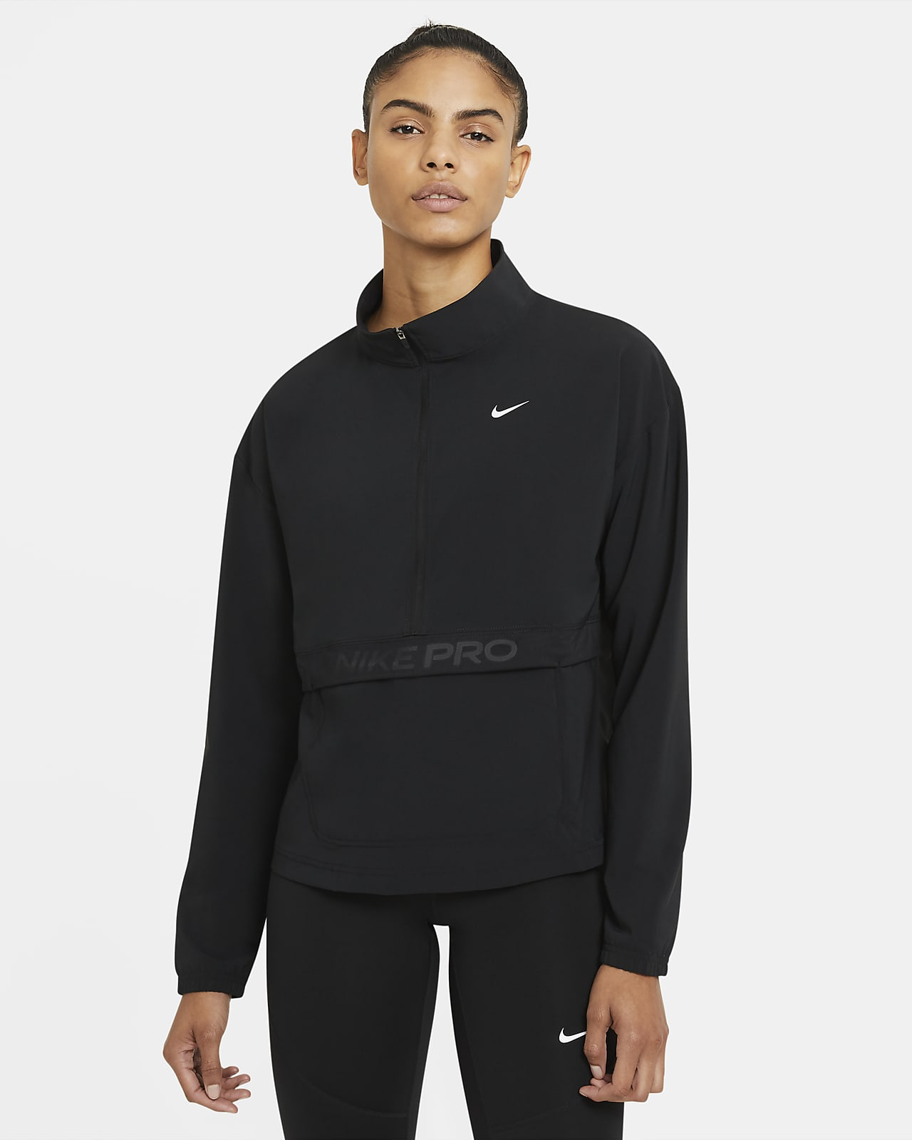 Nike Pro verstaubares, gewebtes Cover-Up für Damen