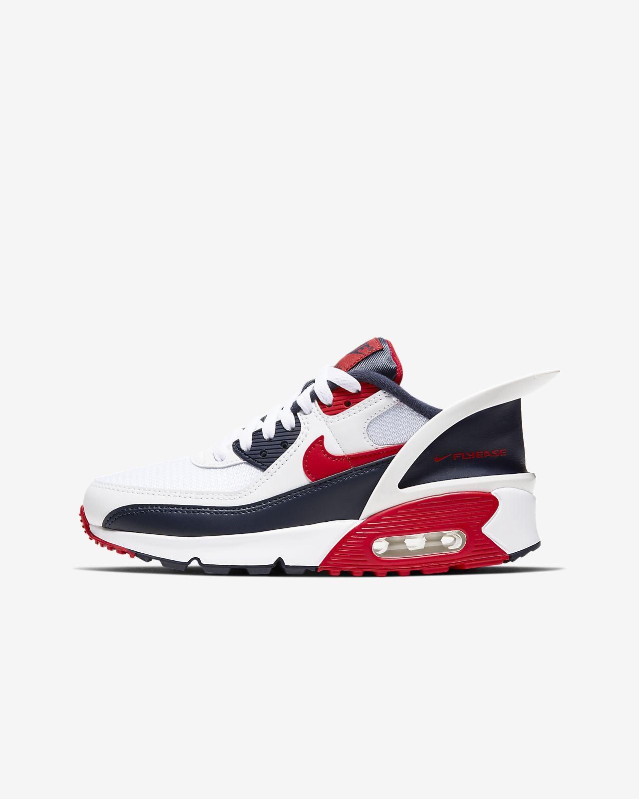 Nike Air Max 90 FlyEase-sko til store børn