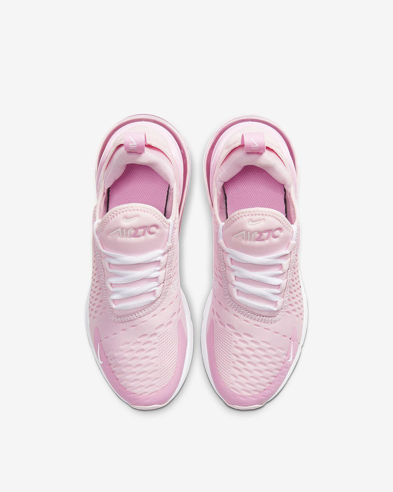 nike air max 270 pink na nodze