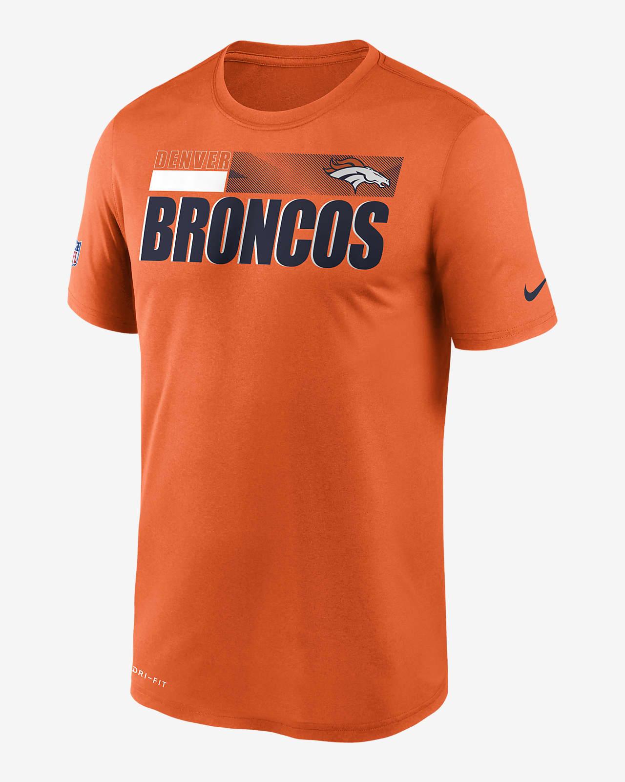 Tee-shirt Nike Dri-FIT Team Name Legend Sideline (NFL Denver Broncos) pour Homme