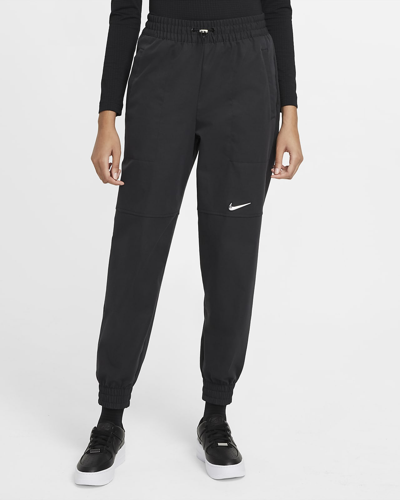Nike Sportswear Swoosh Geweven damesbroek