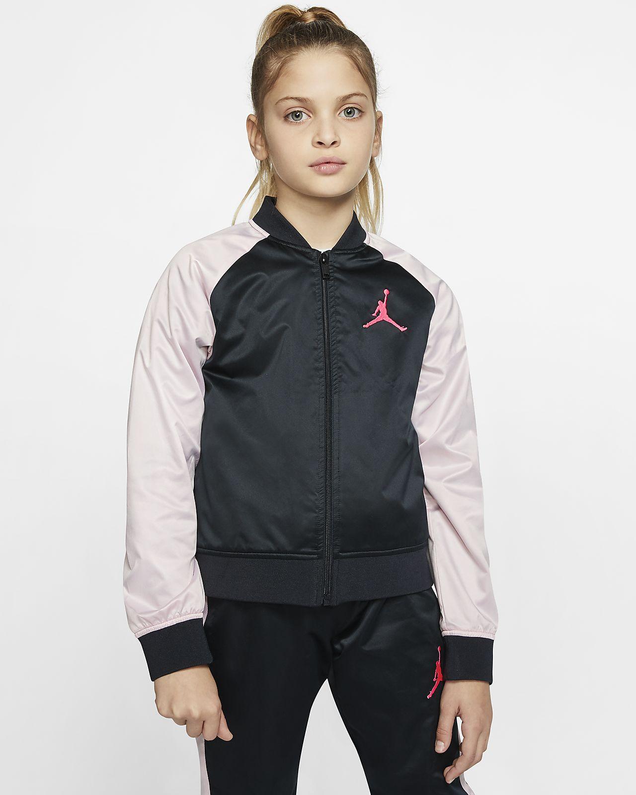 Jordan Jumpman Older Kids' (Girls') Full-Zip Bomber Jacket