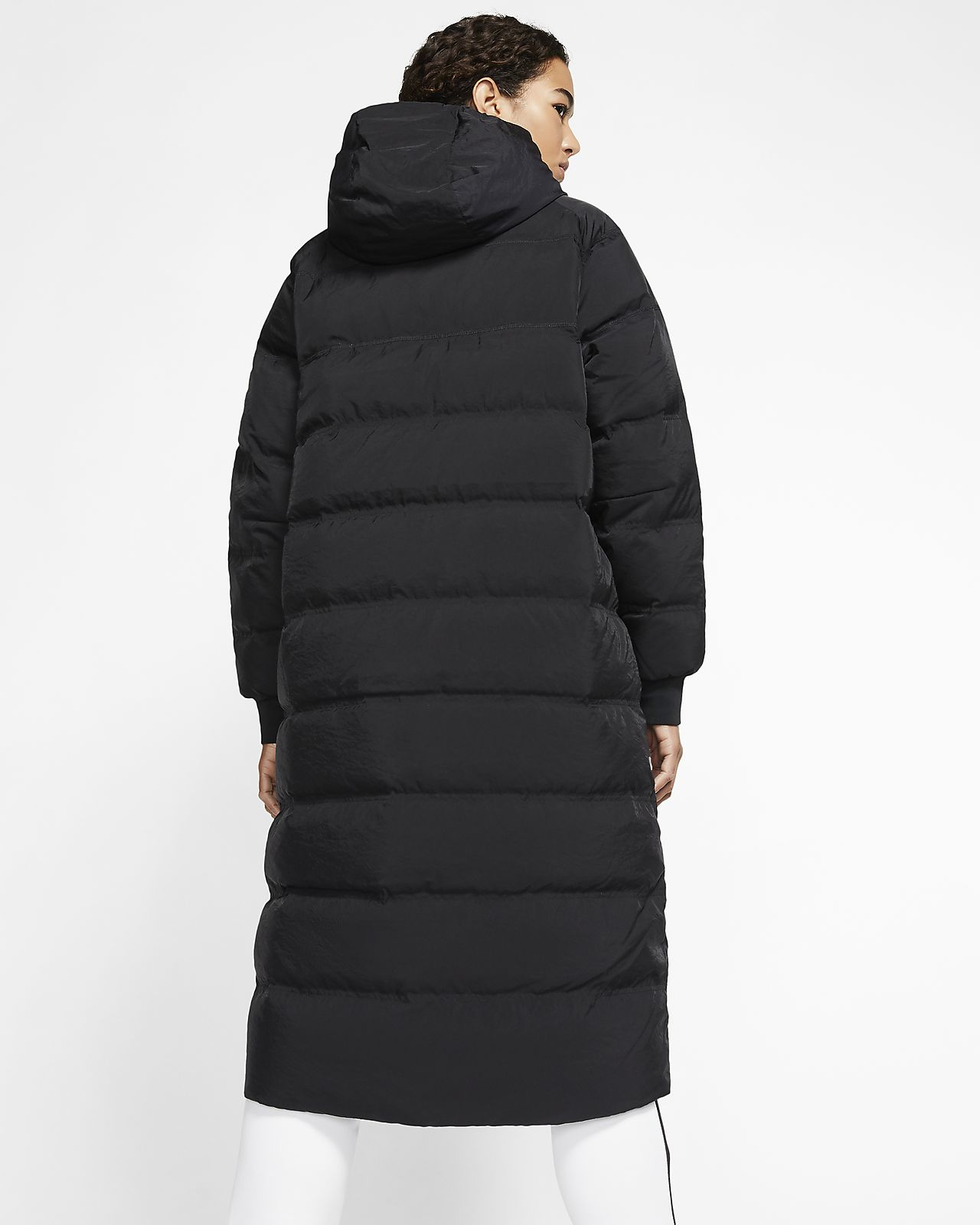 mens nike down fill parka