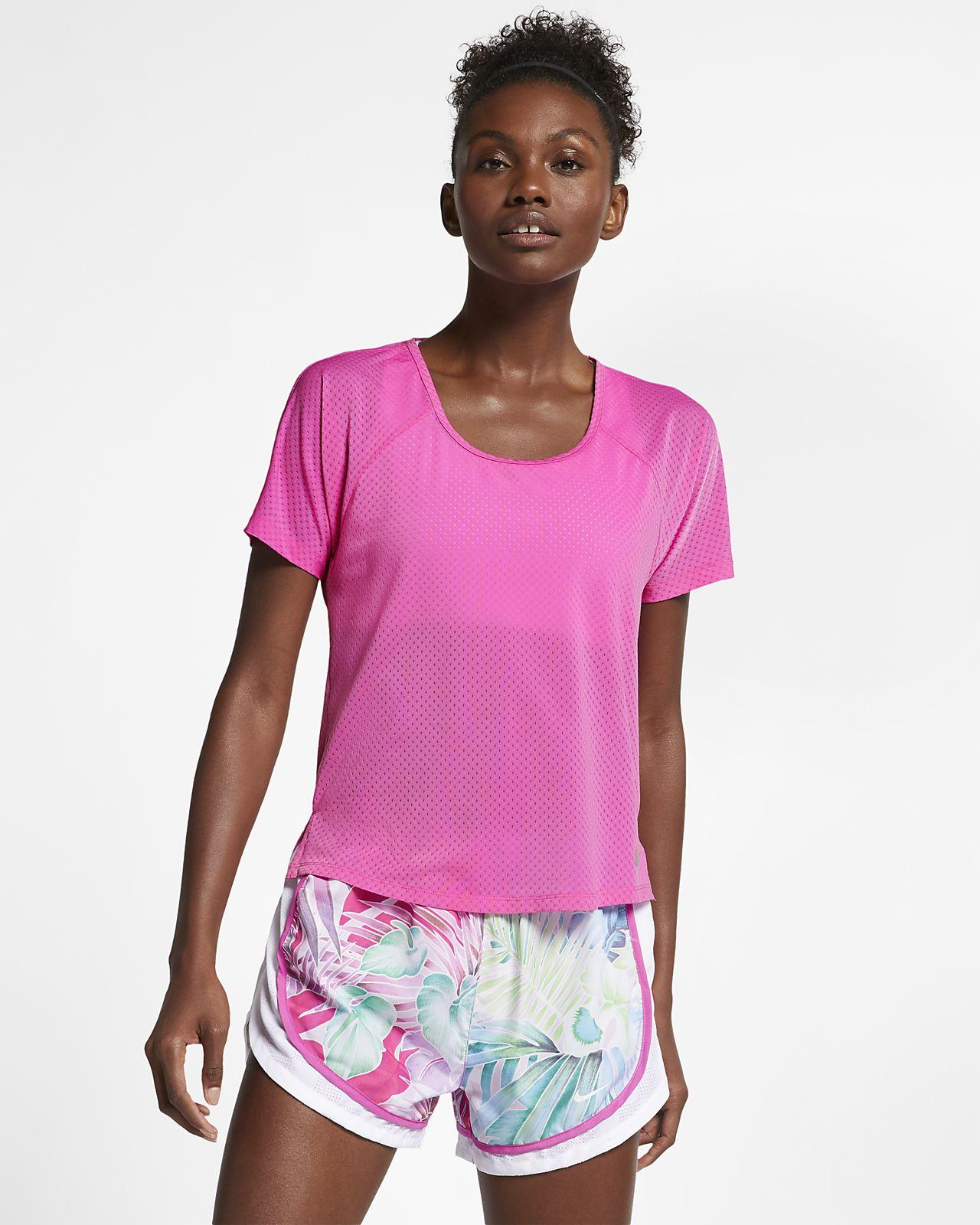 Breathe Miler Women's Running Top. Nike MA
