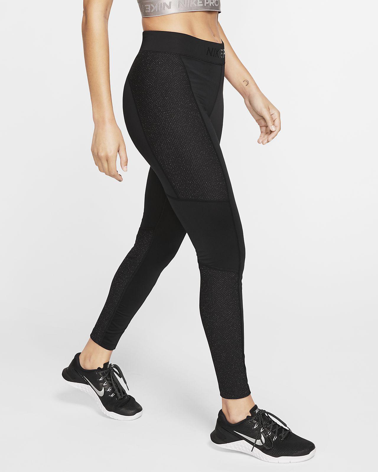 Nike Pro Women Training Tights Black | Racketspesialisten.no