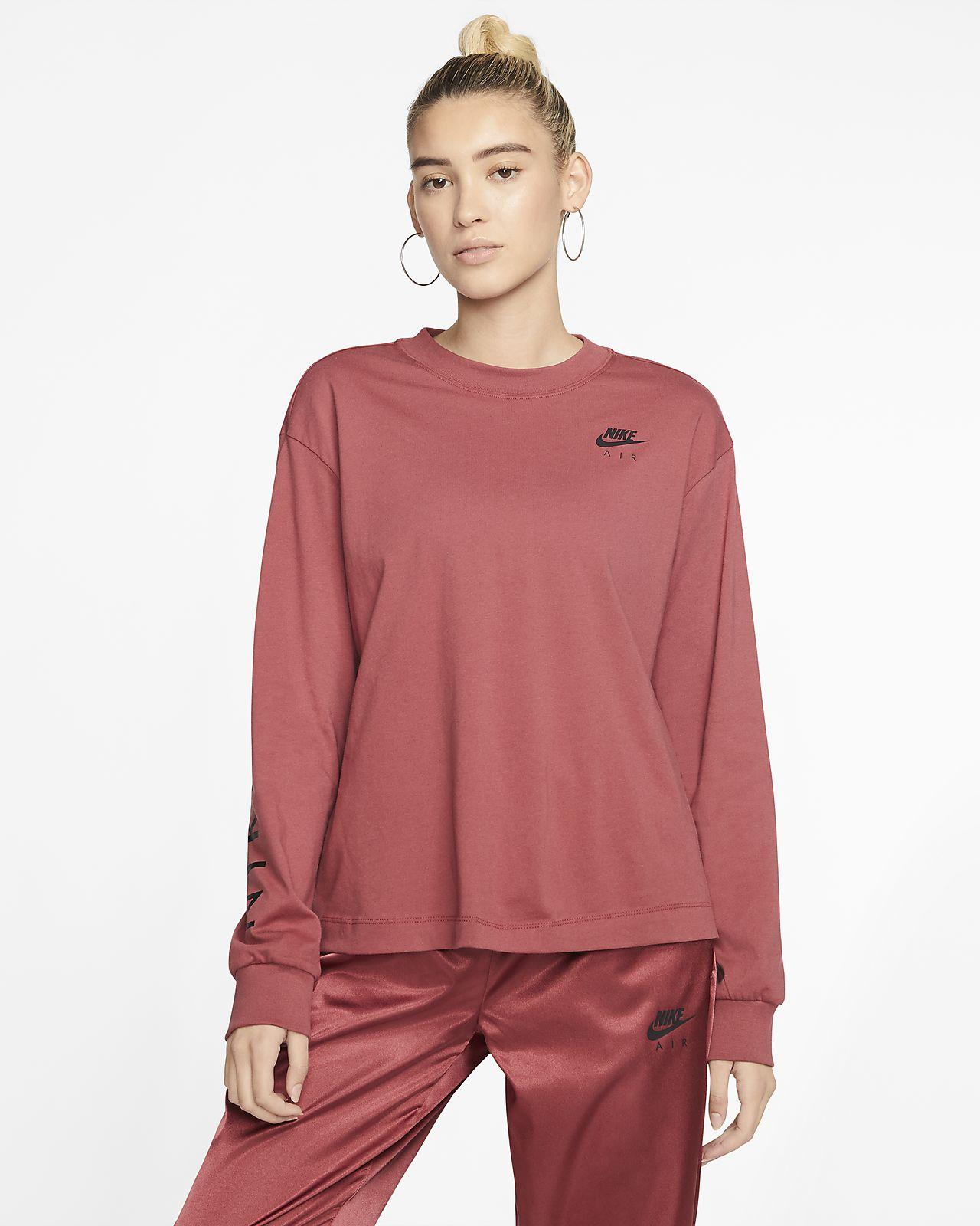 Nike Air langærmet top til kvinder. Nike DK