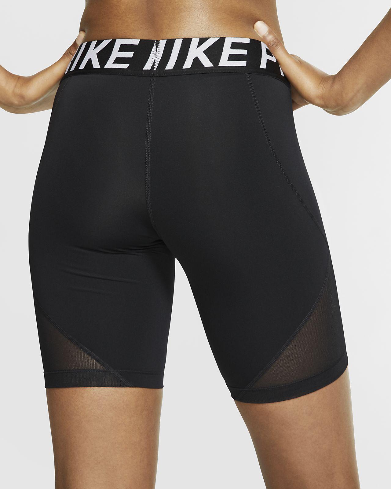 w nike pro 3in shorts