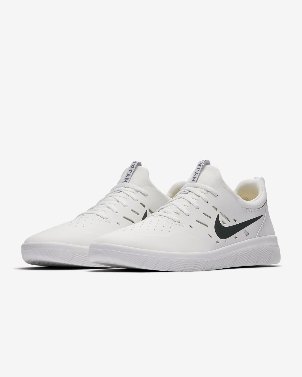 Nike SB Zoom Janoski Summit White Canvas Skate Shoes White, Mens Skate Shoes Mens, Skate Shoes