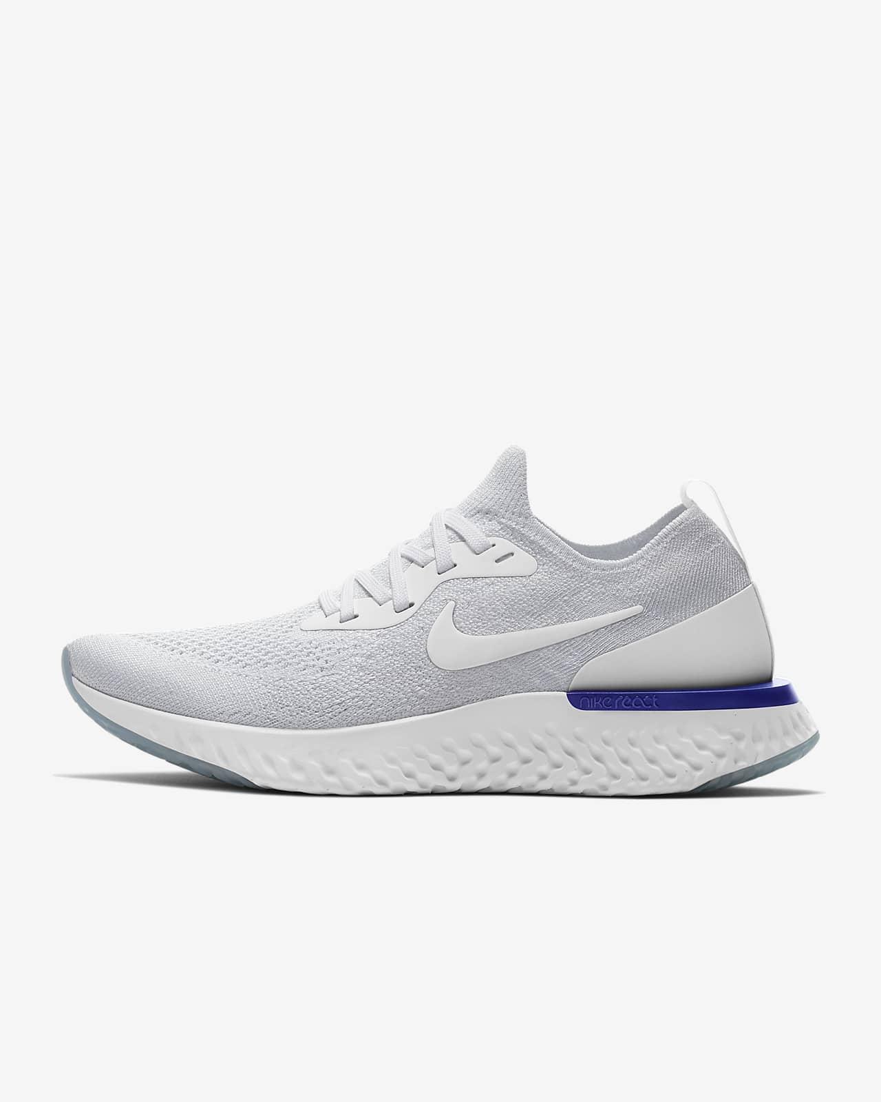 รองเท้าวิ่งผู้หญิง Nike Epic React Flyknit