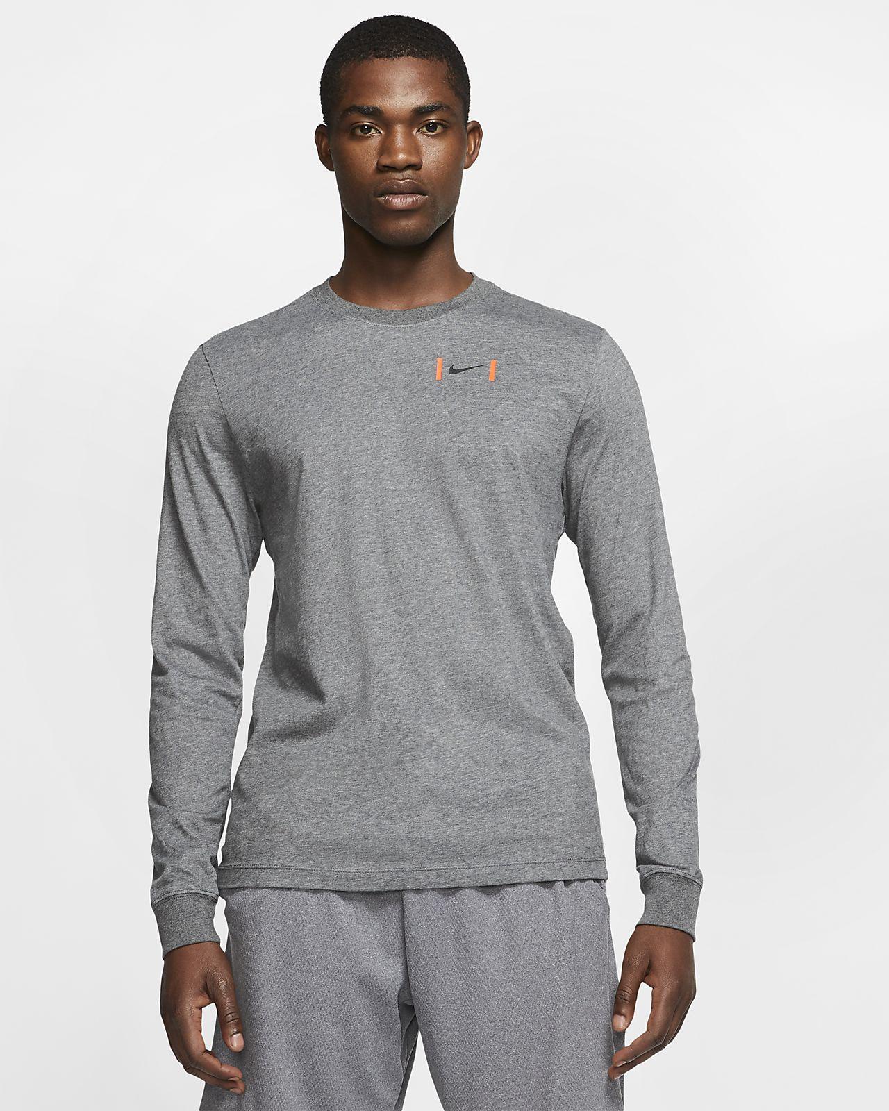 Nike Dri-FIT Men's Long-Sleeve Football T-Shirt