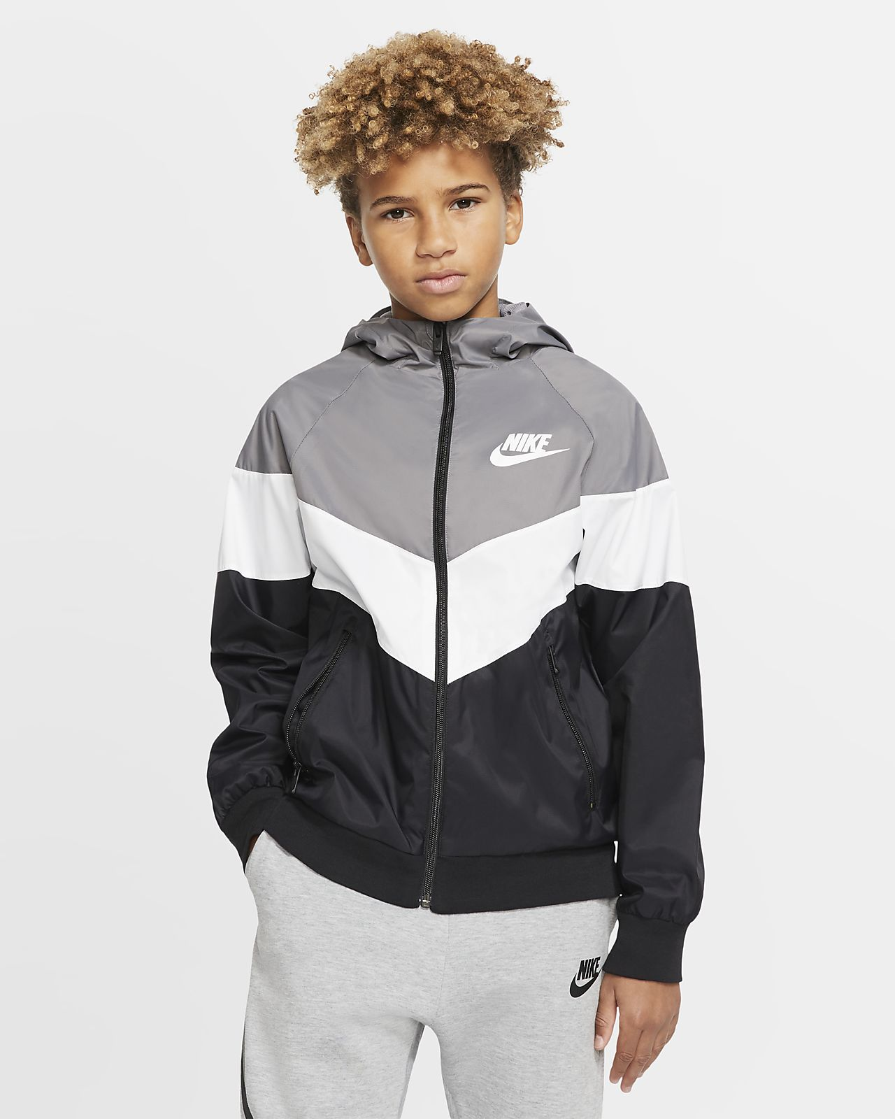 Nike Sportswear Windrunner Jacke für ältere Kinder