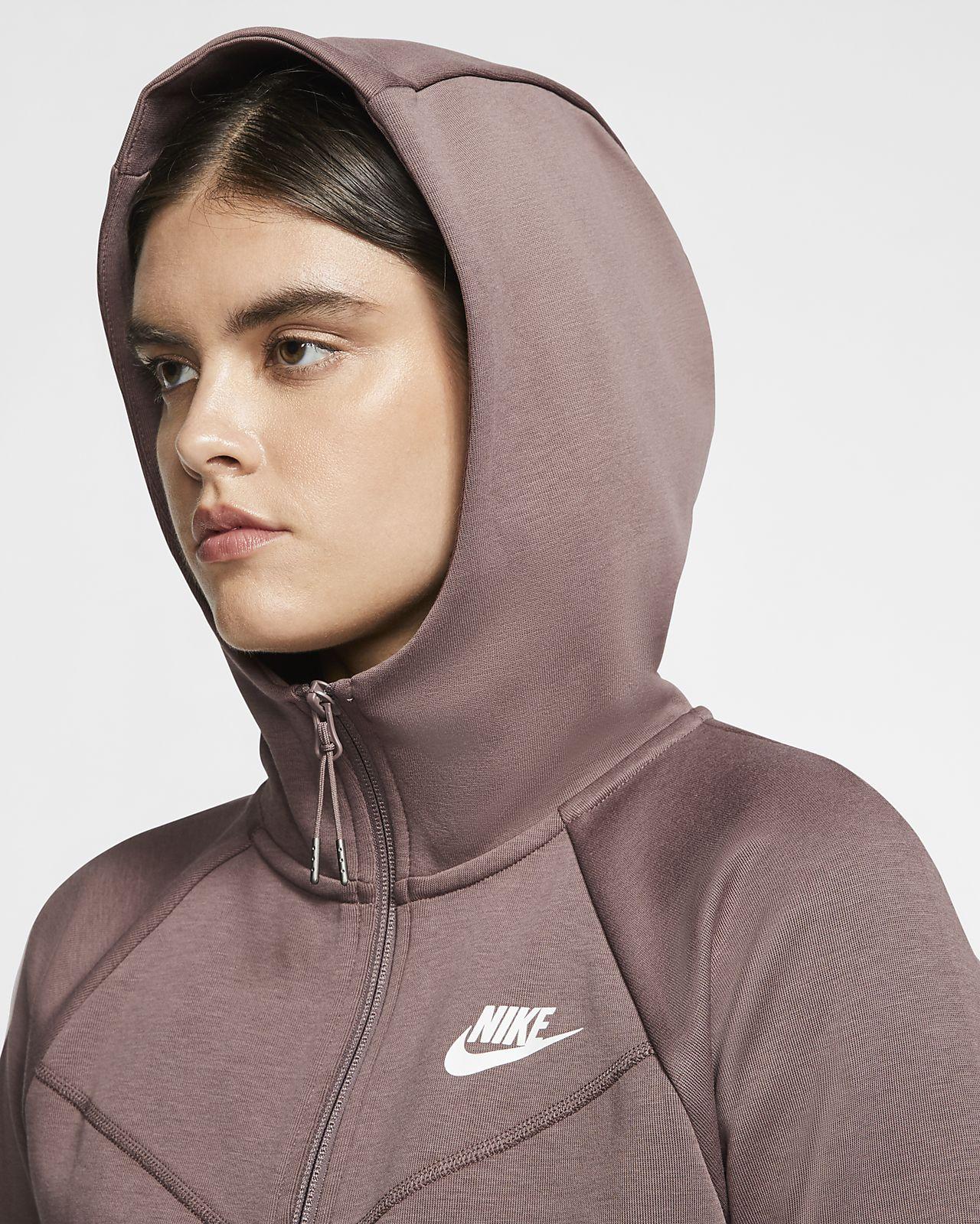 Nike Tech Fleece Windrunner Hoodie gray series boys'XL USED