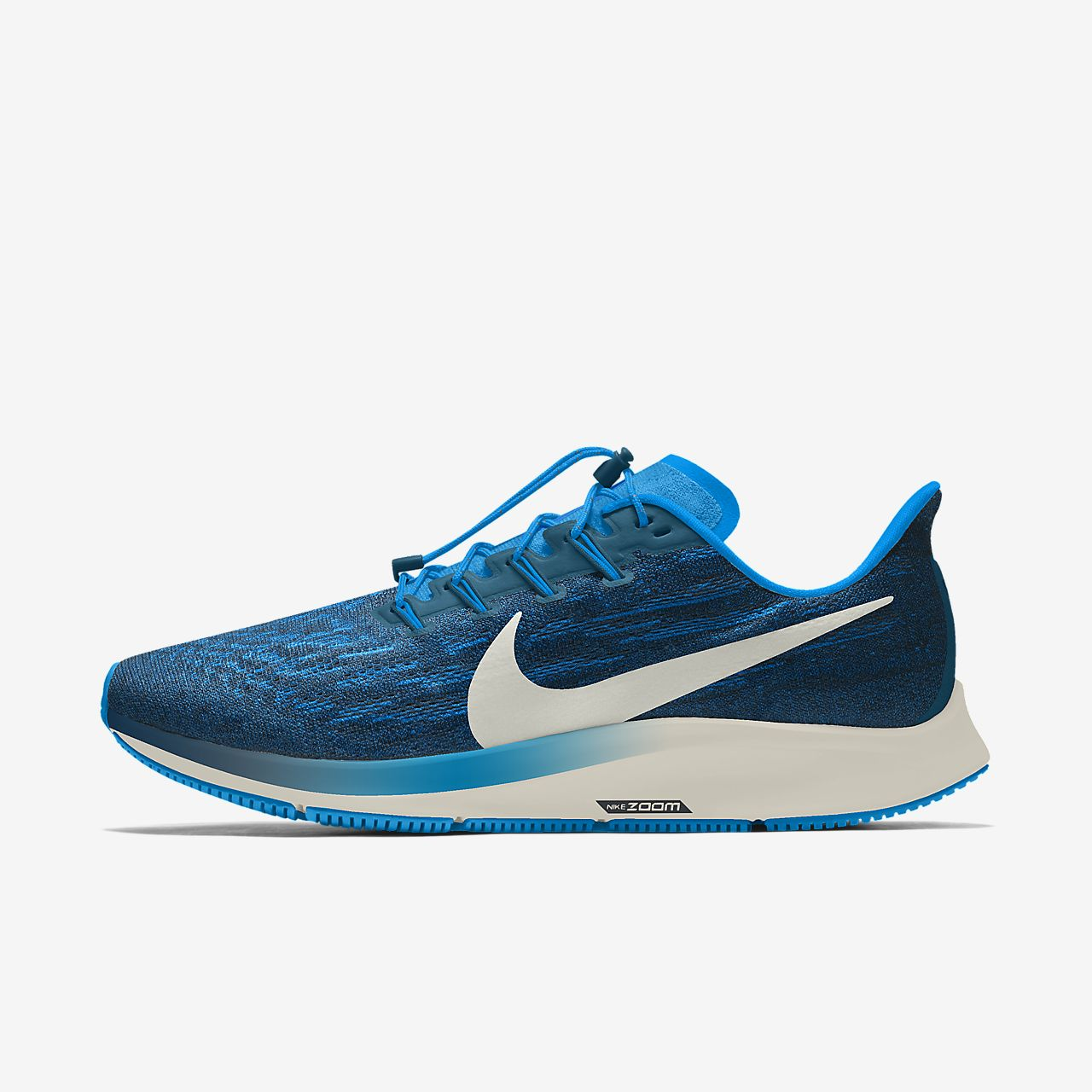 Specialdesignad löparsko Nike Air Zoom Pegasus 36 By You för kvinnor