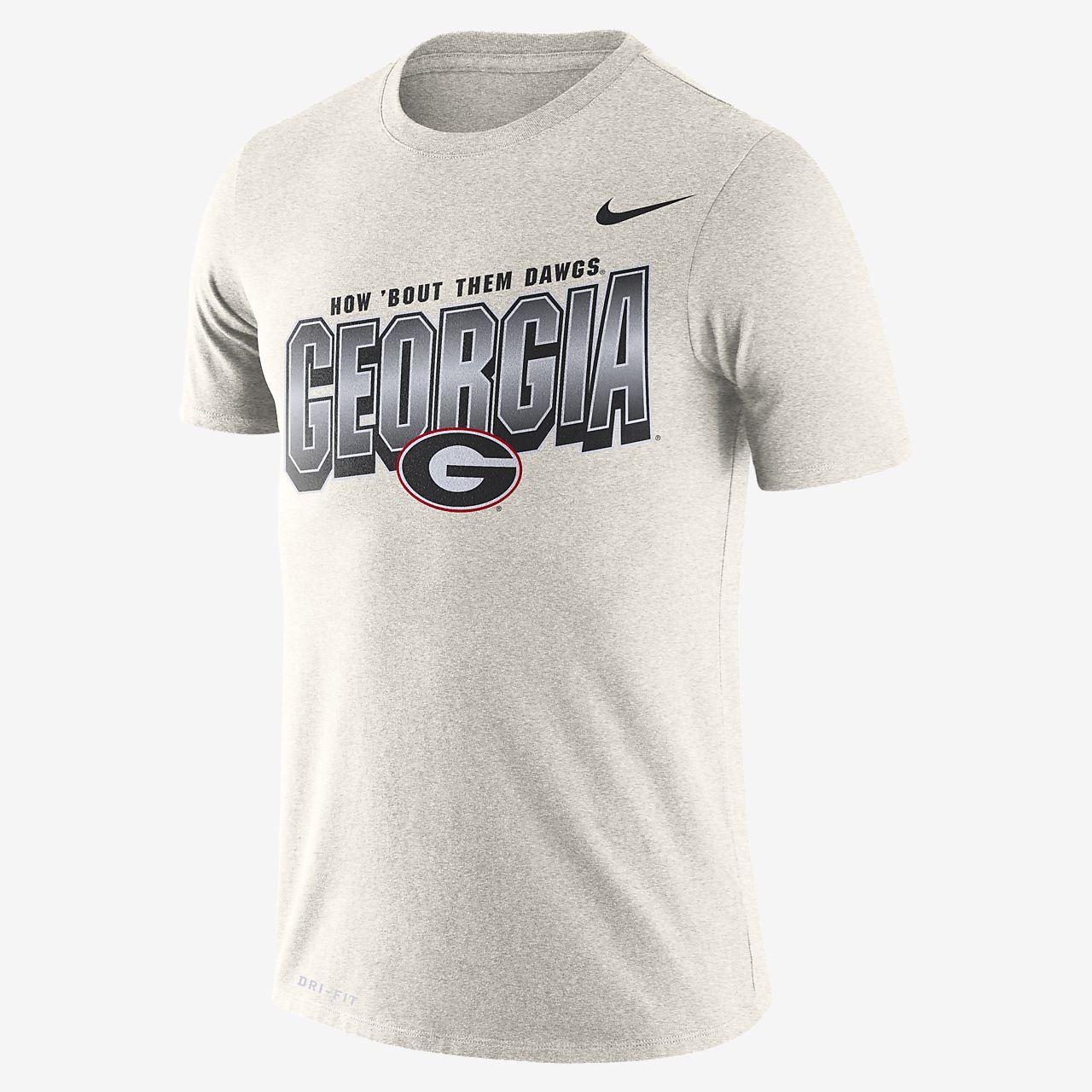 Nike College Dri-FIT (Georgia) Men's T-Shirt