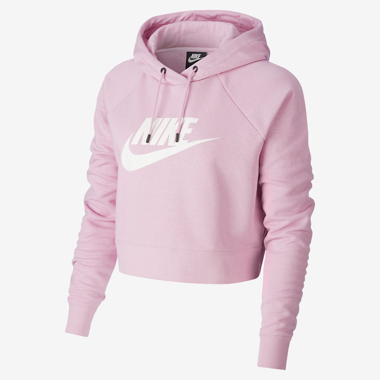 Nike Sportswear Essential Sudadera con capucha corta Mujer