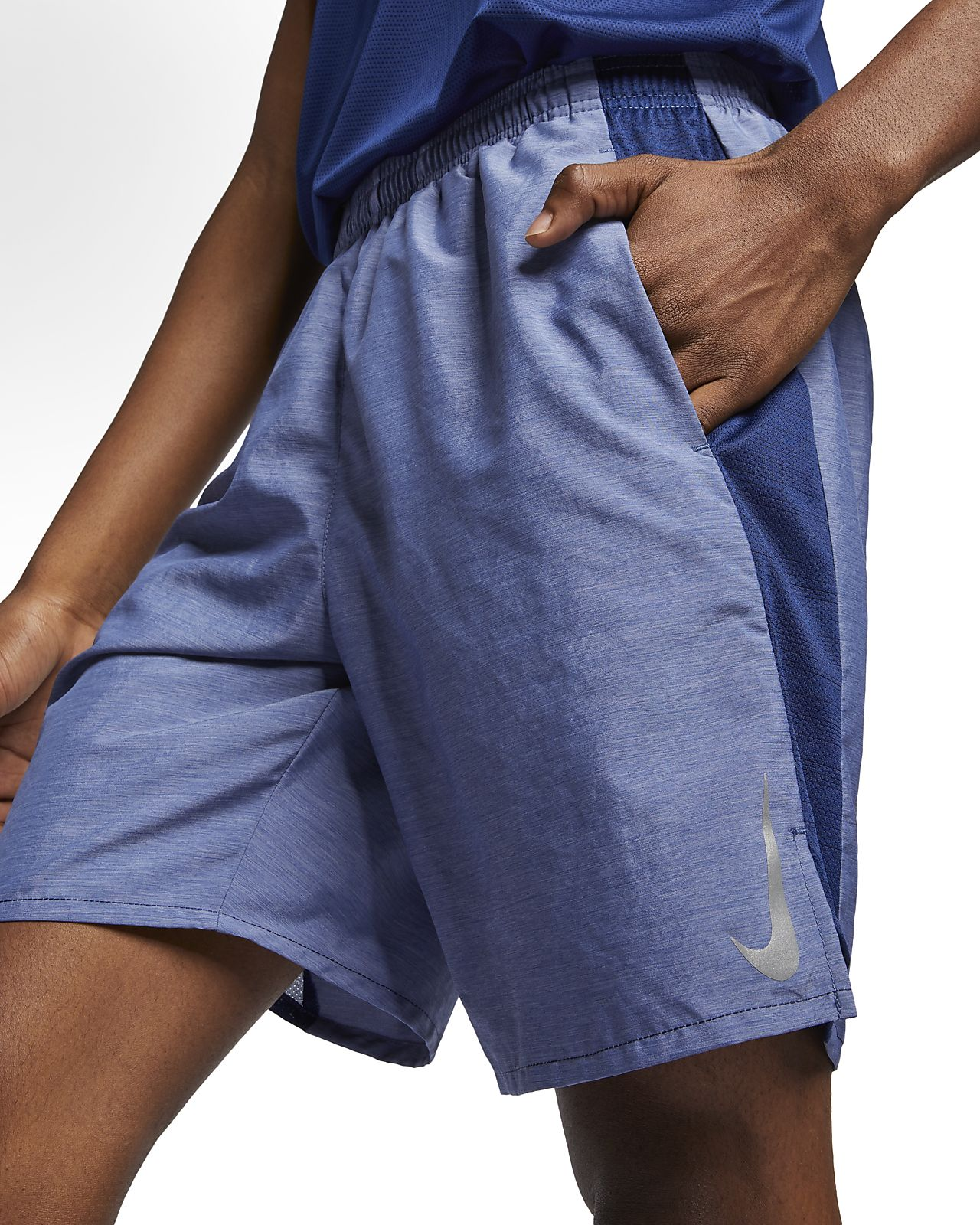 "Nike Challenger Men's 9"" Brief-Lined Running Shorts"