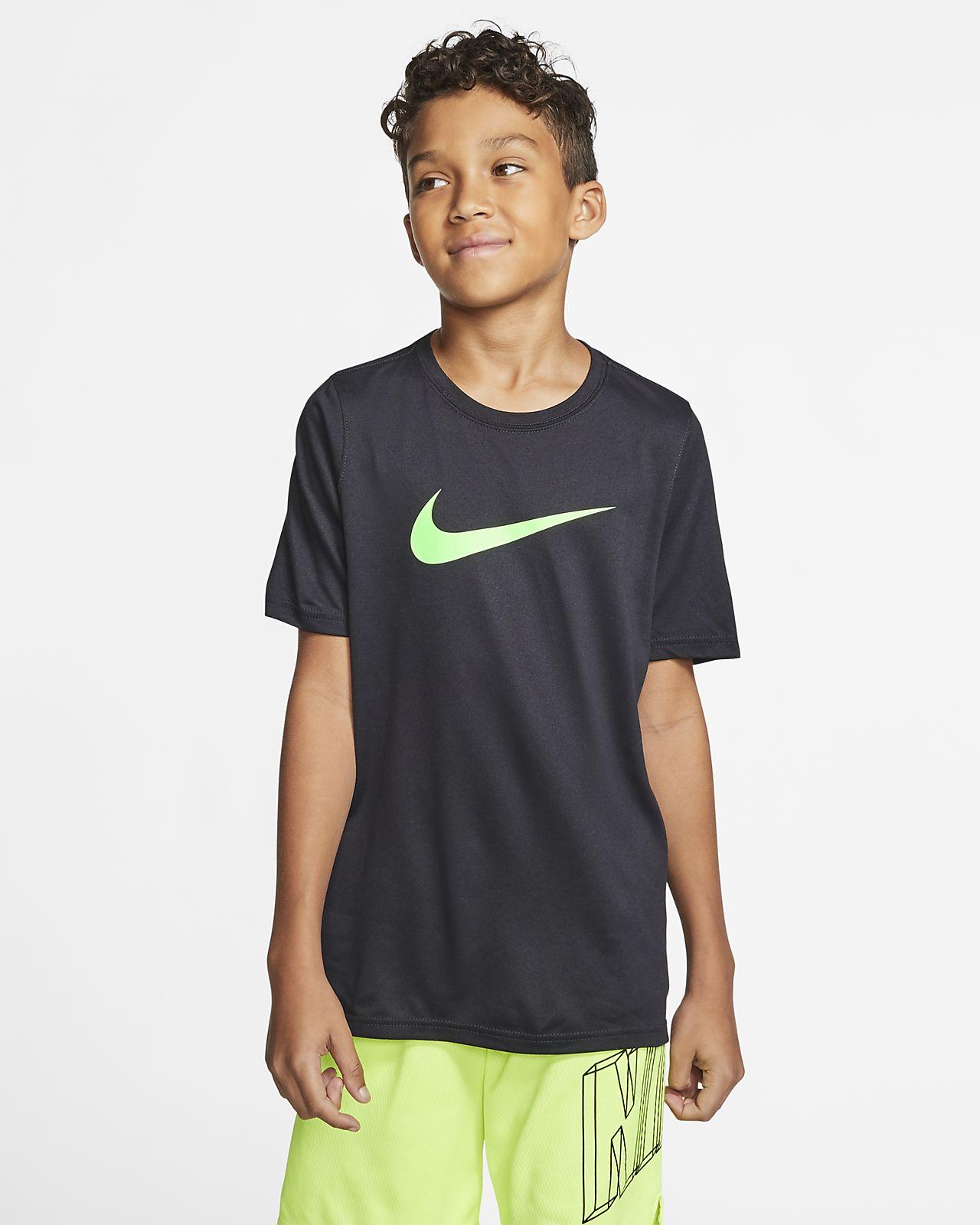 NIKE Men/'s Dri Fit Athletic Football Graphic T-Shirt Small Royal Blue NEW $30