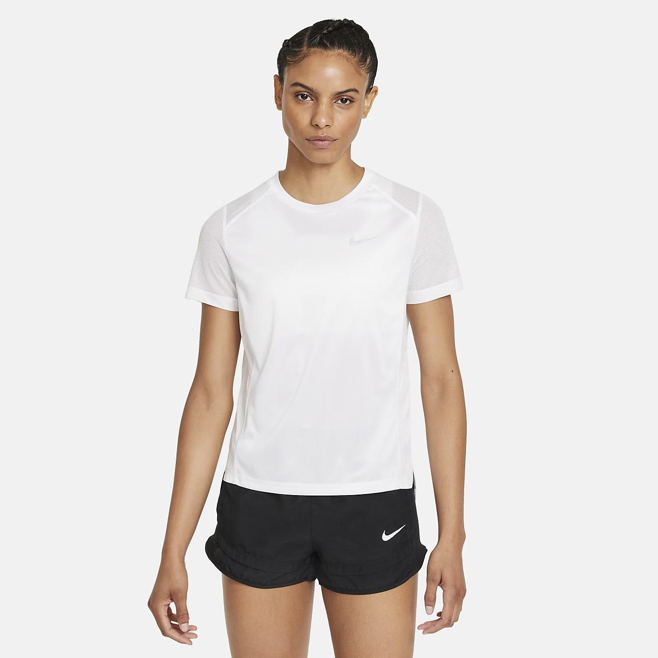 Parte superior de running para mujer Nike Dri-FIT Miler