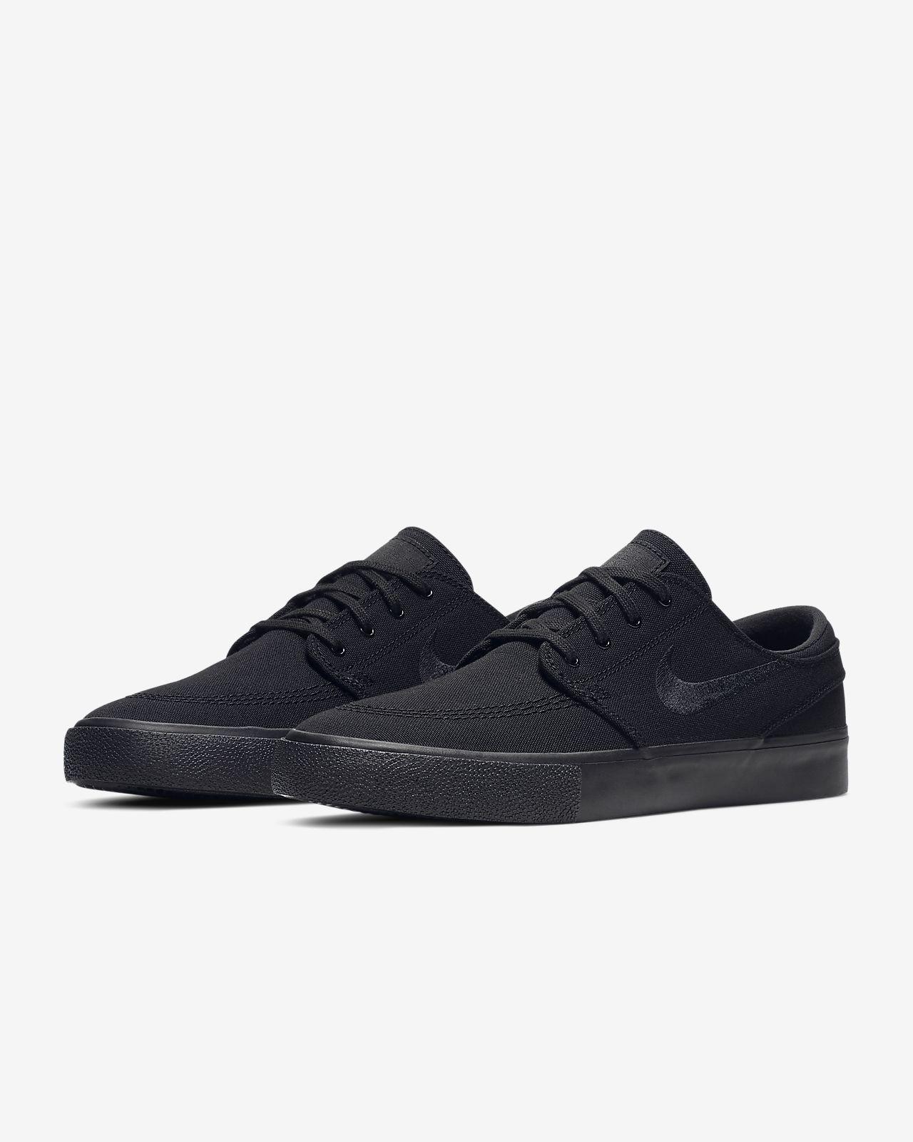 Nike SB Zoom Stefan Janoski Premium HT | Black | Skate shoes